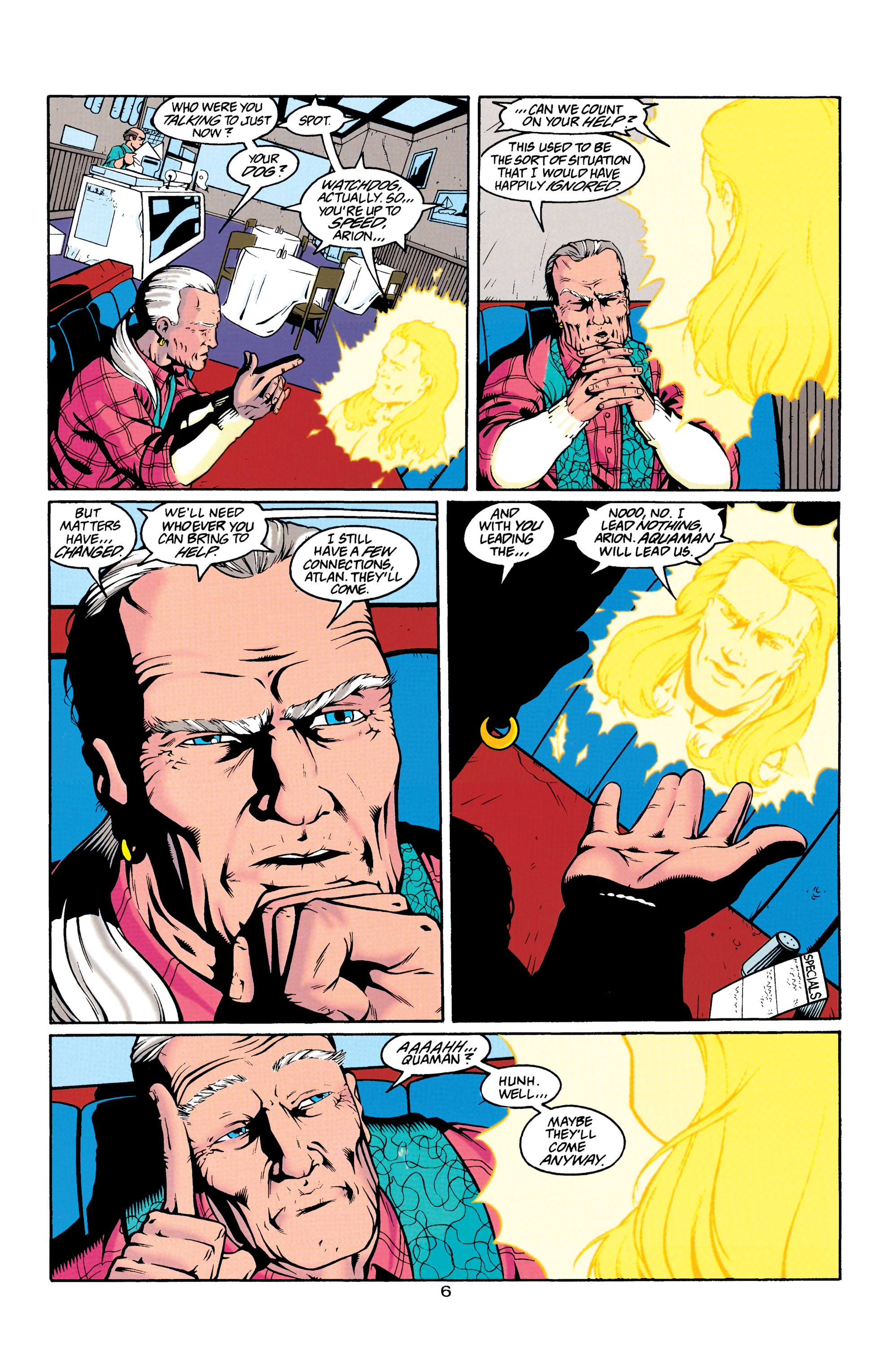 Read online Aquaman (1994) comic -  Issue #23 - 6