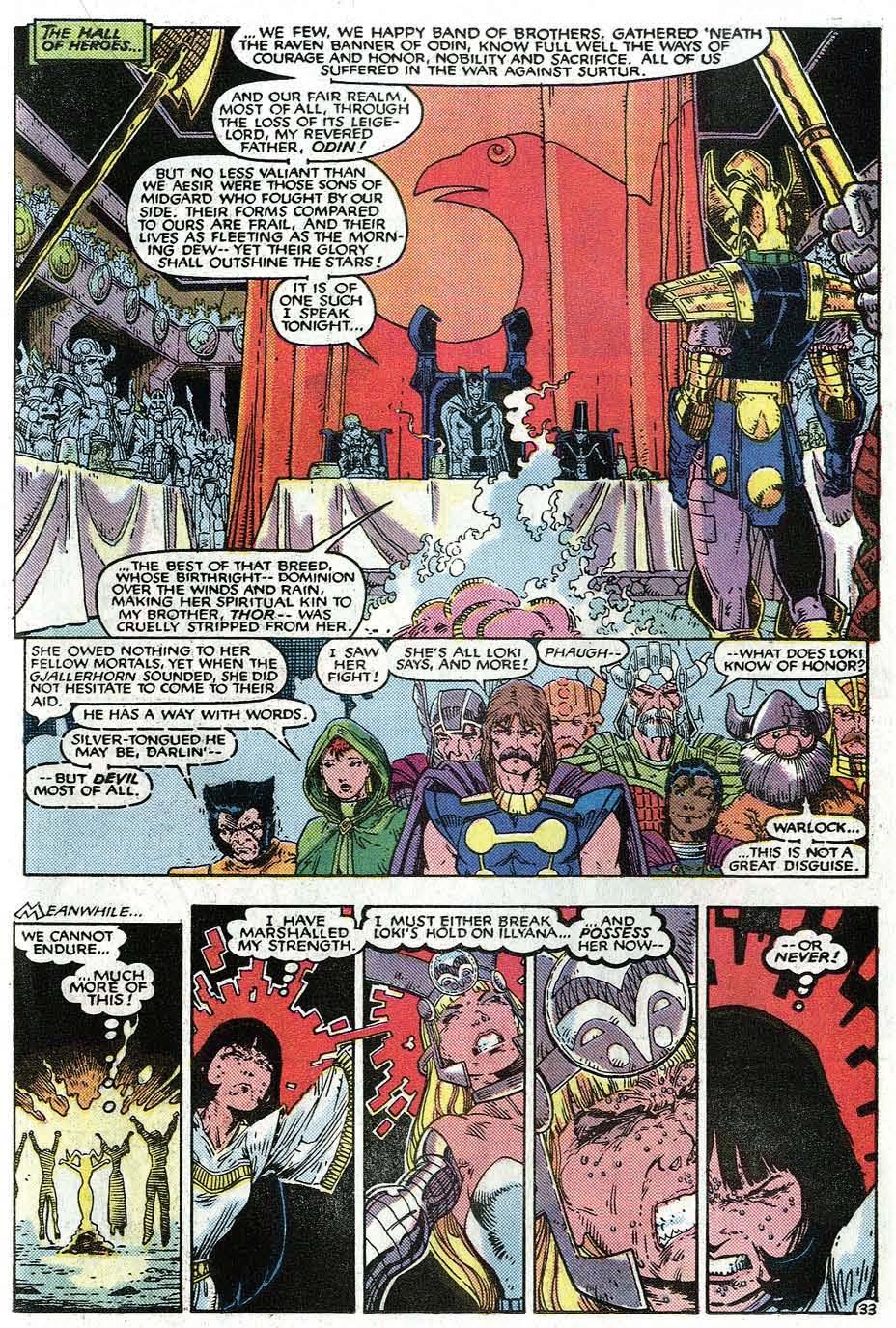 Read online Uncanny X-Men (1963) comic -  Issue # _Annual 9 - 35