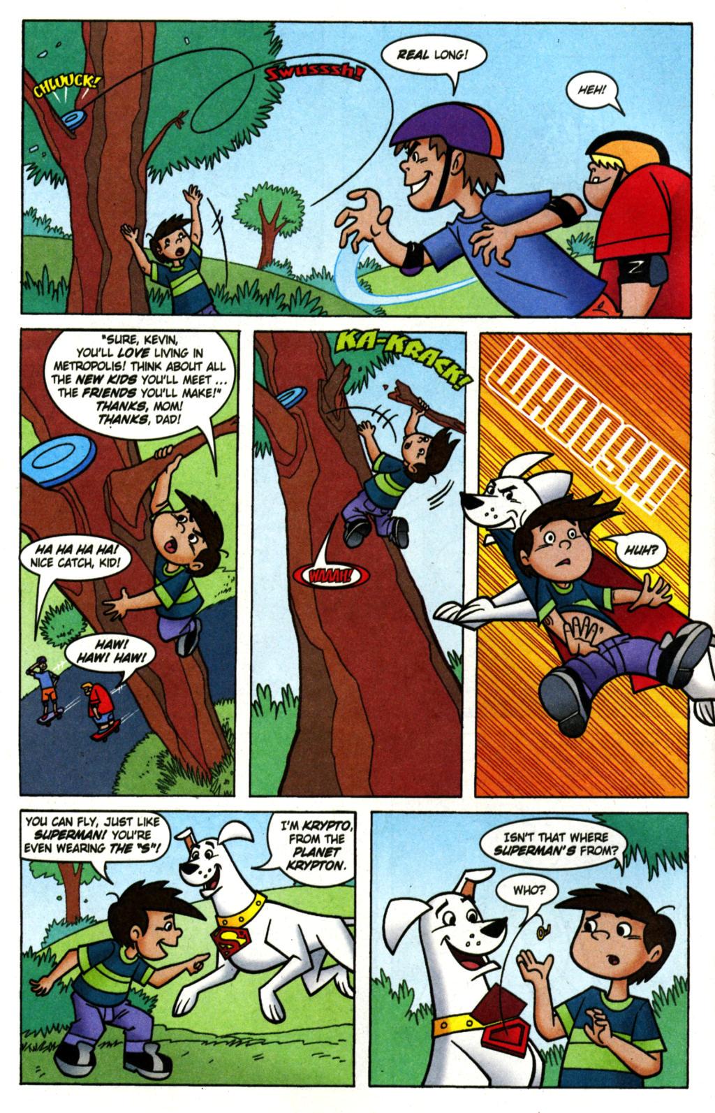 Read online Krypto the Superdog comic -  Issue #1 - 5