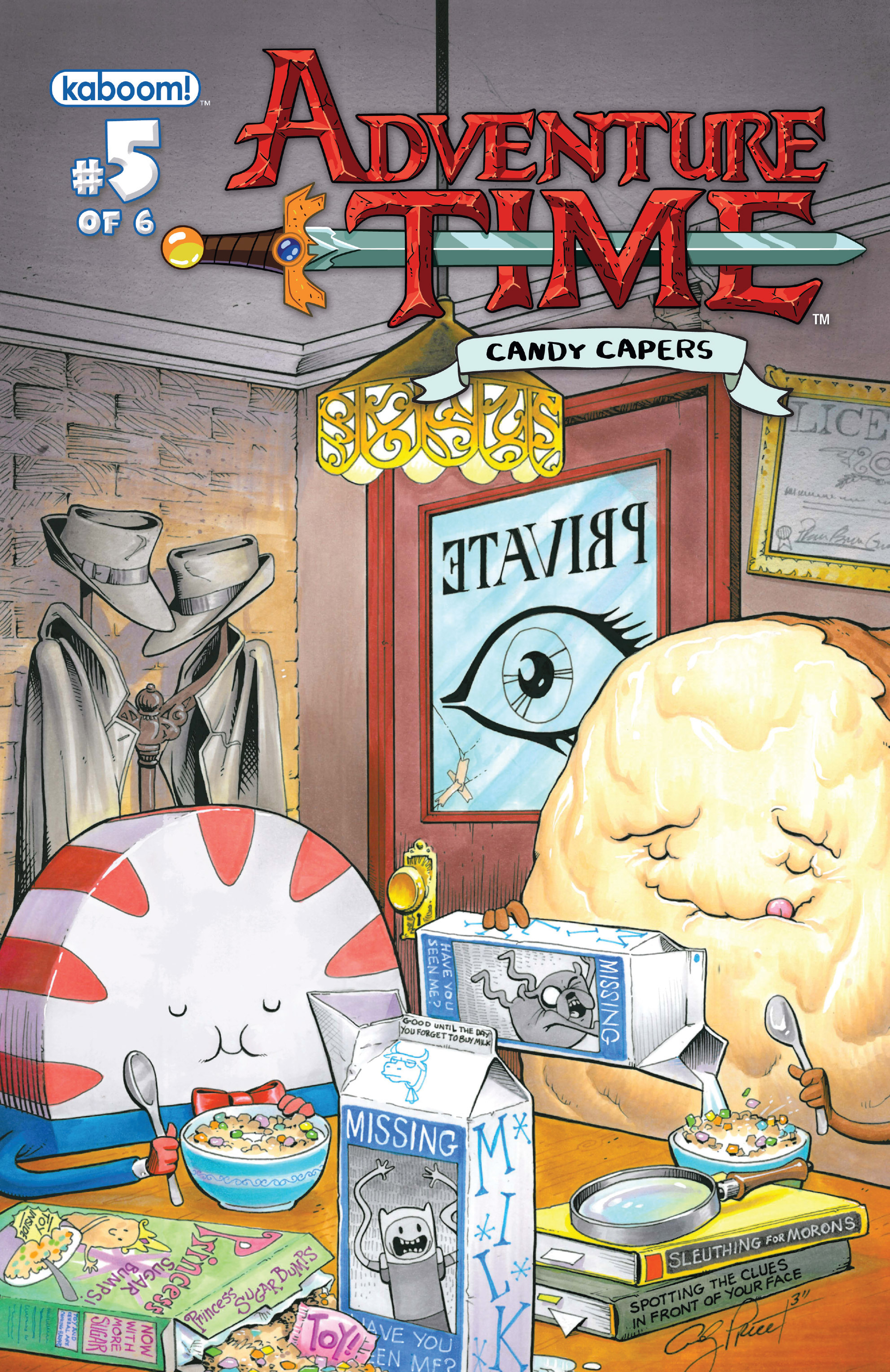 Read online Adventure Time: Candy Capers comic -  Issue #5 - 2