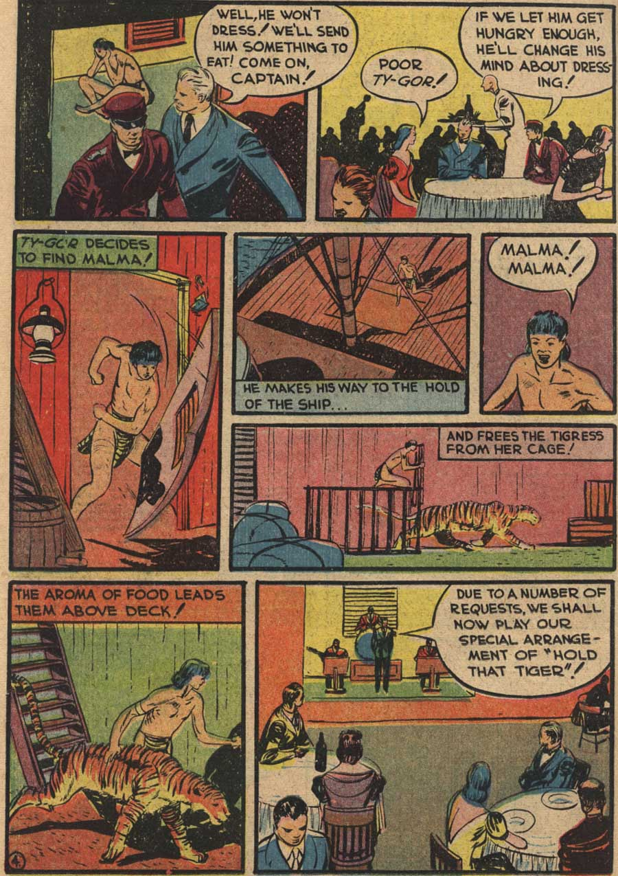 Blue Ribbon Comics (1939) issue 7 - Page 46