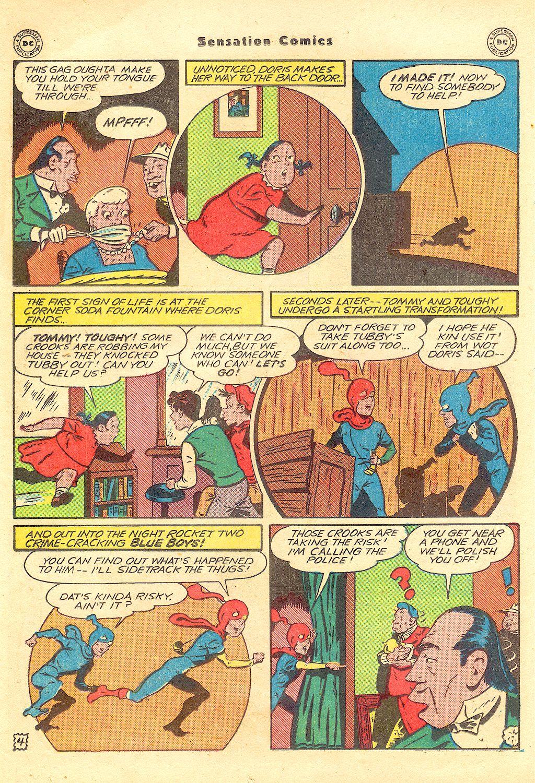 Read online Sensation (Mystery) Comics comic -  Issue #57 - 20