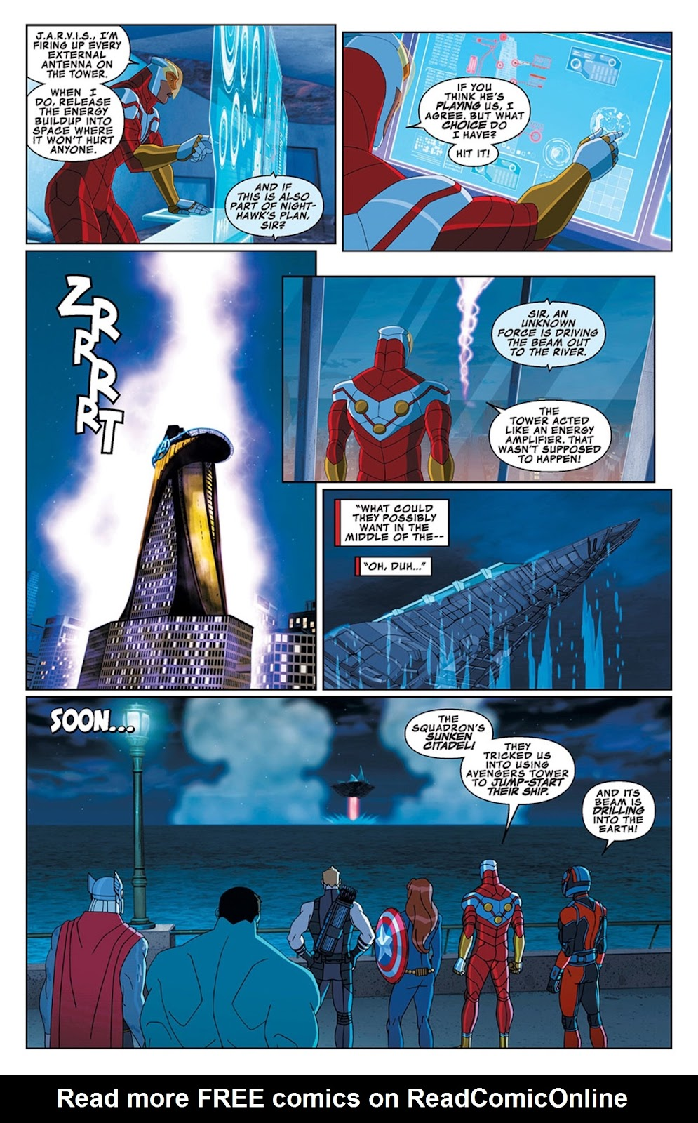 Read online Marvel Universe Avengers Assemble Season 2 comic -  Issue #13 - 22