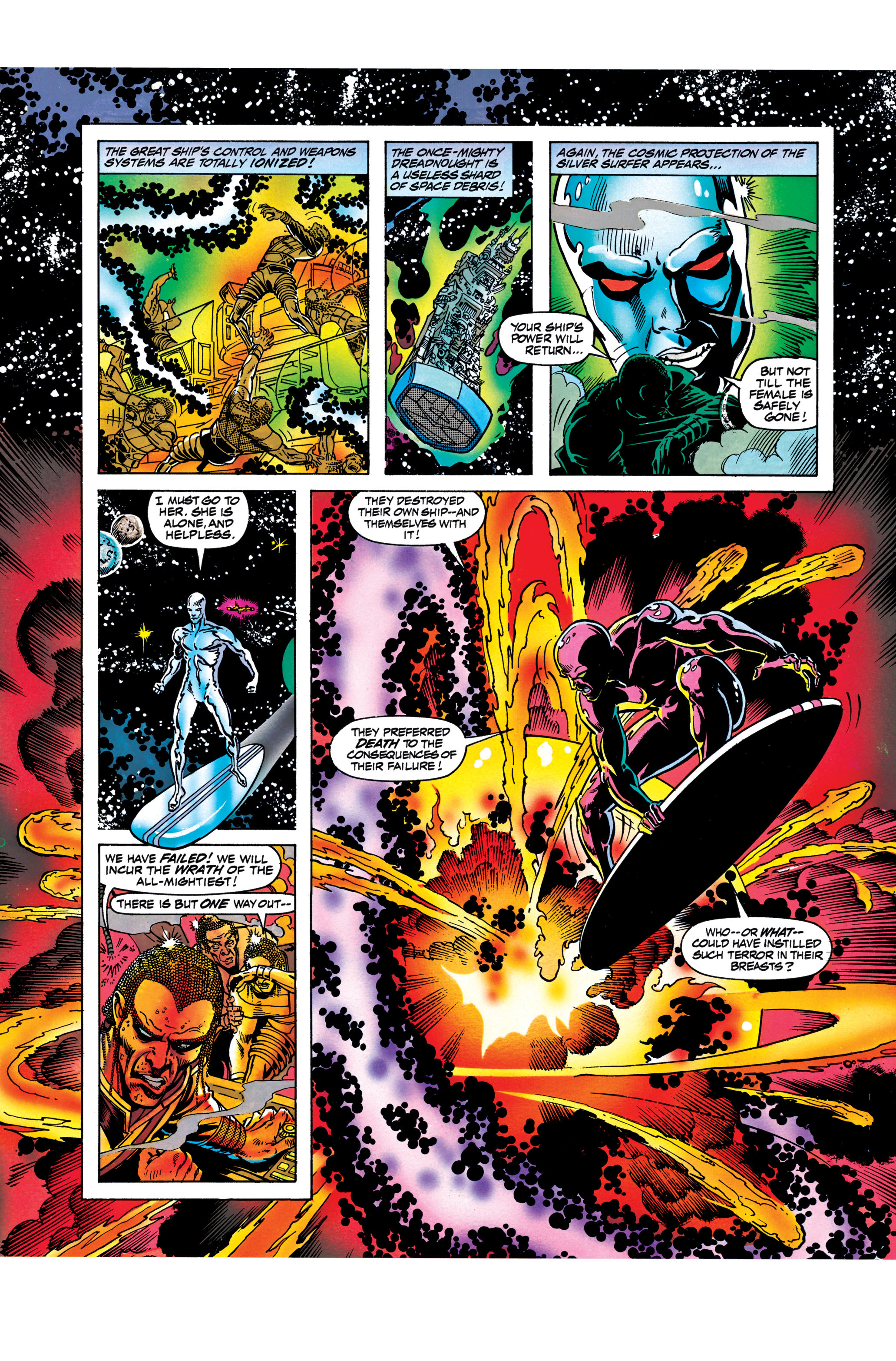 Read online Silver Surfer: Parable comic -  Issue # TPB - 97