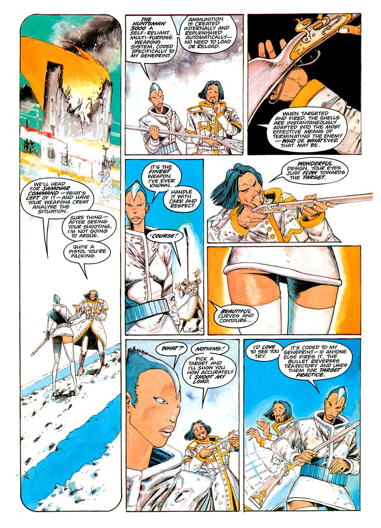 Read online Nikolai Dante comic -  Issue # TPB 1 - 164