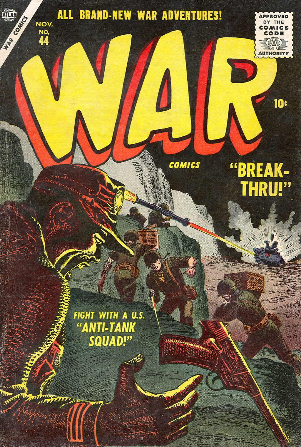 War Comics issue 44 - Page 1