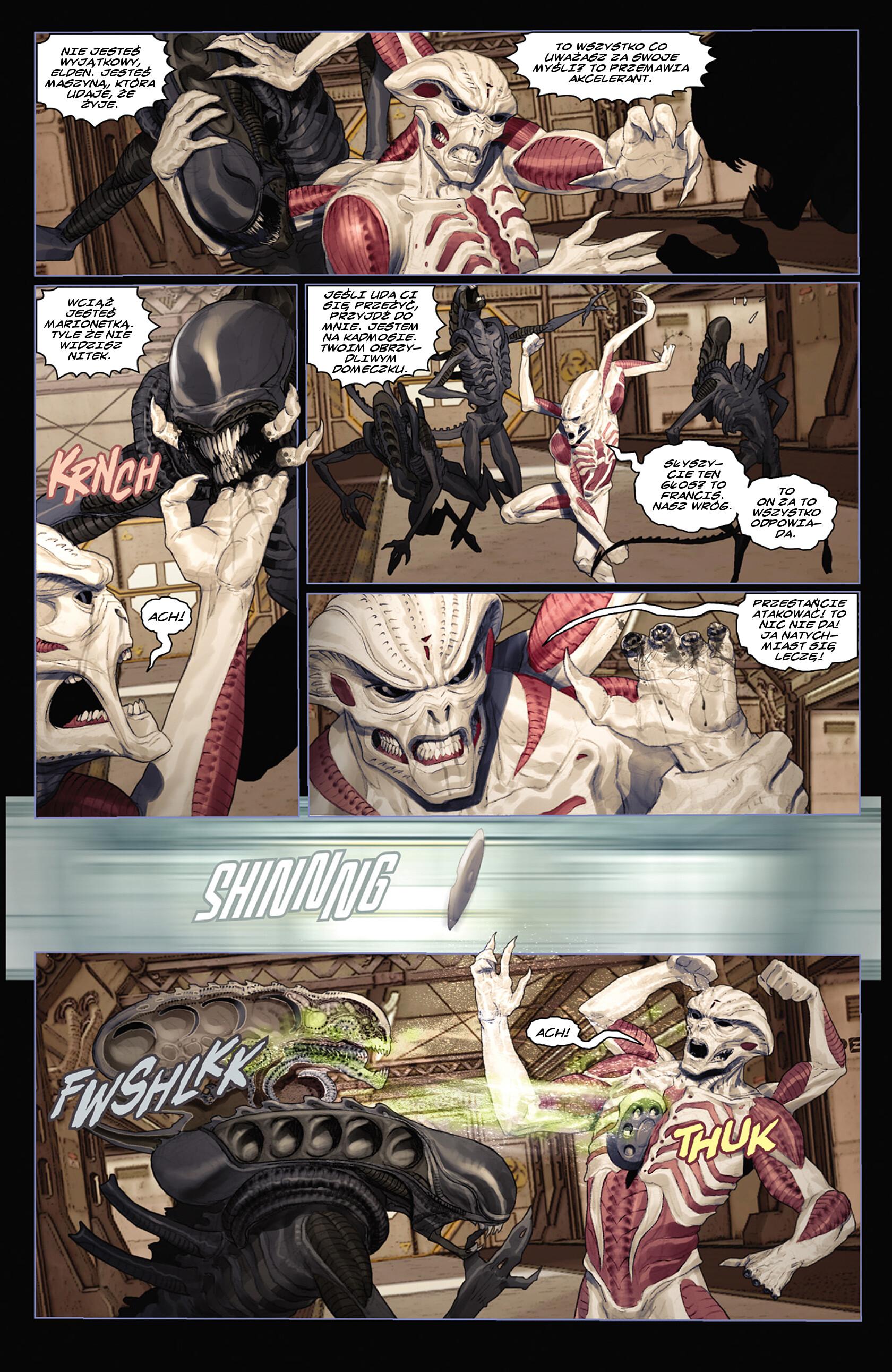 Read online Alien vs. Predator: Fire and Stone comic -  Issue #3 - 10