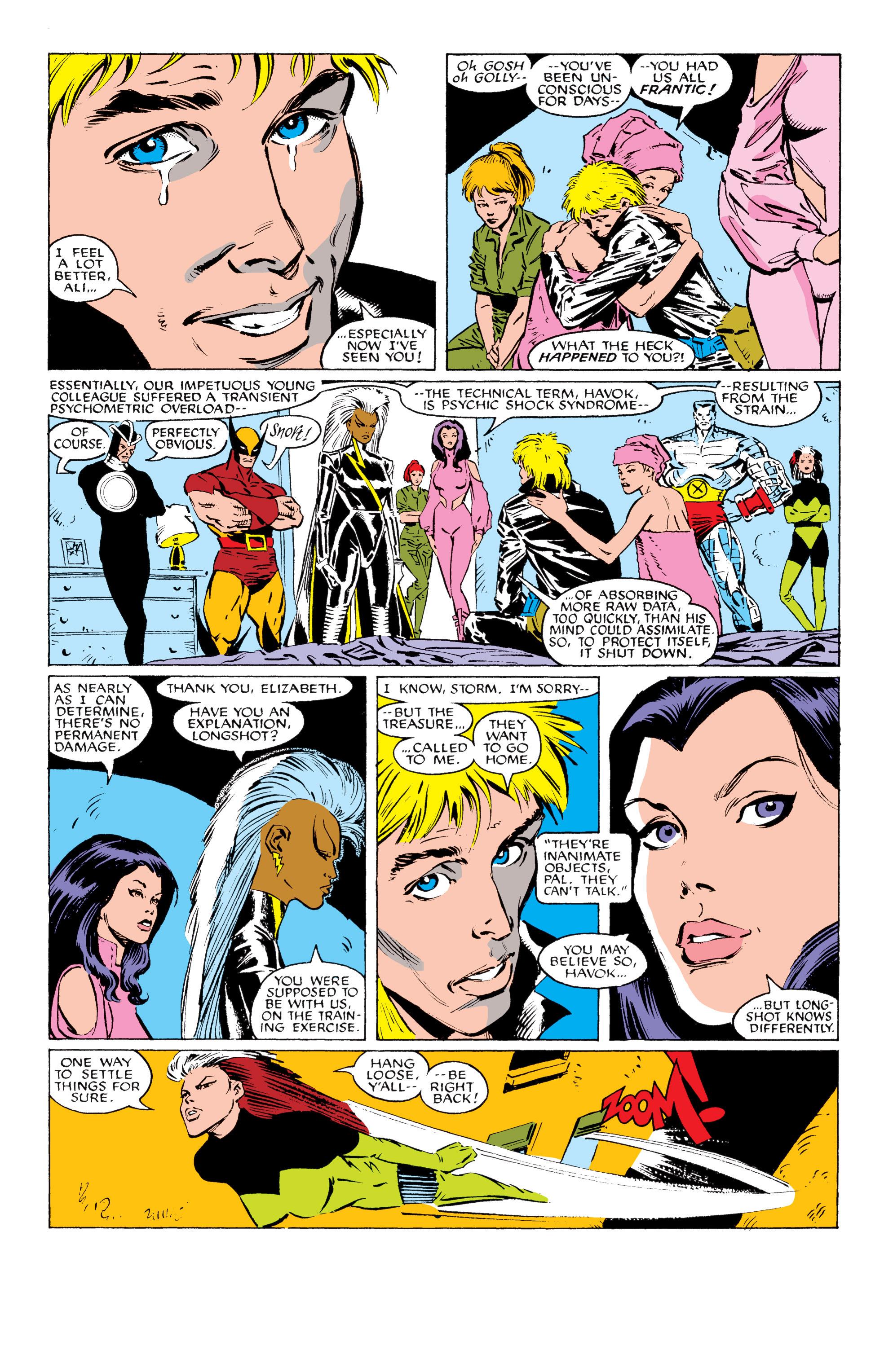 Read online Uncanny X-Men (1963) comic -  Issue #230 - 13