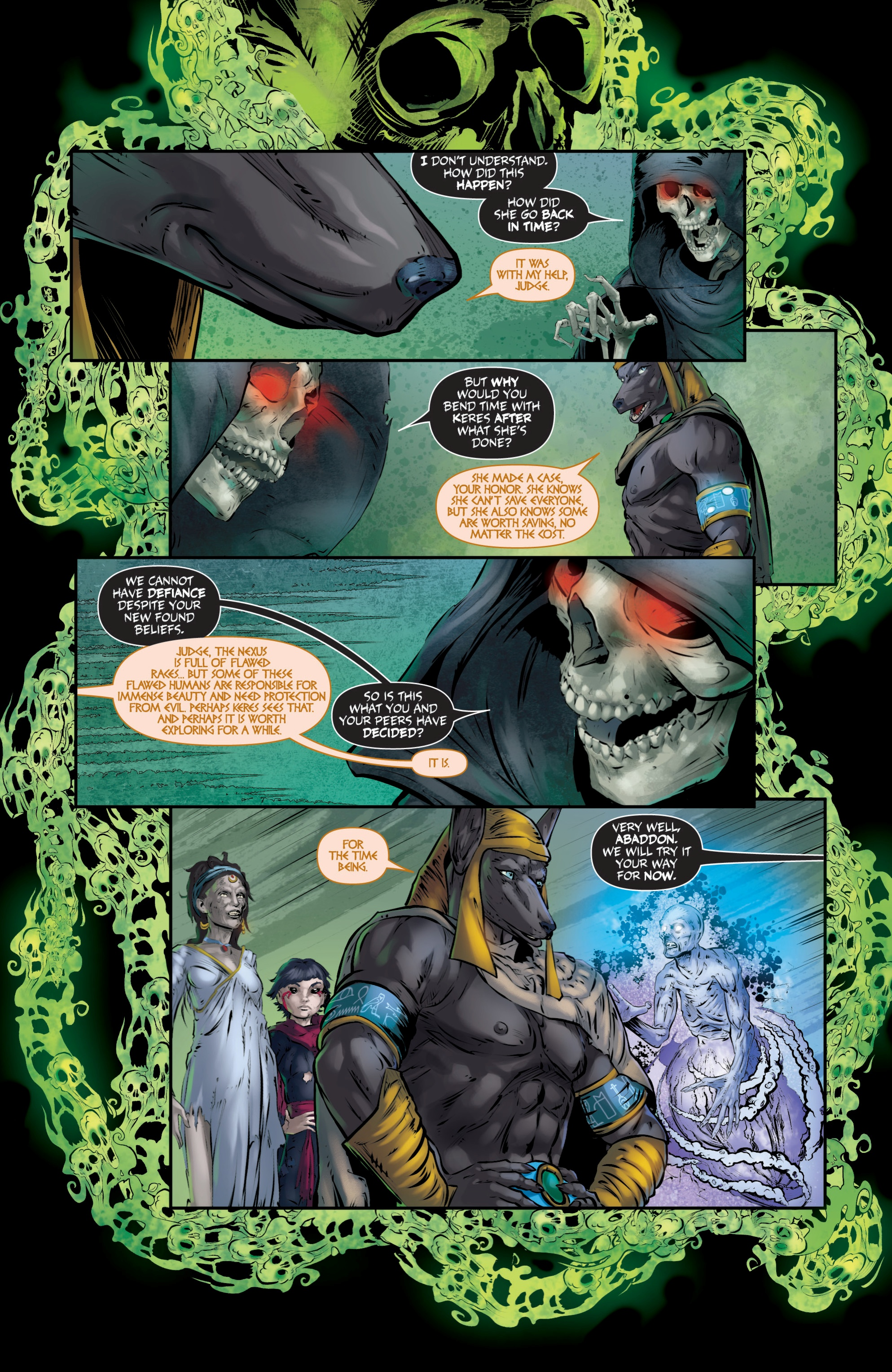 Read online Grimm Fairy Tales presents Death comic -  Issue # Full - 40