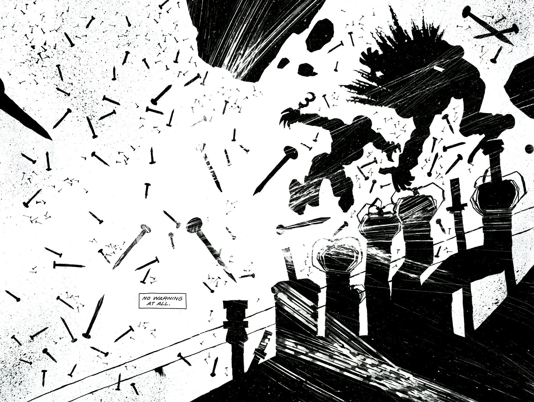 Read online Frank Miller's Holy Terror comic -  Issue # TPB - 35