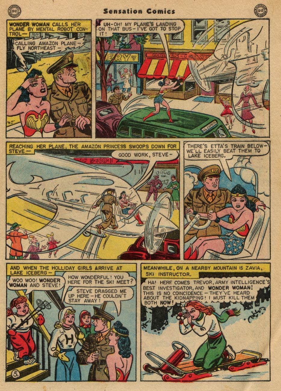 Read online Sensation (Mystery) Comics comic -  Issue #49 - 7