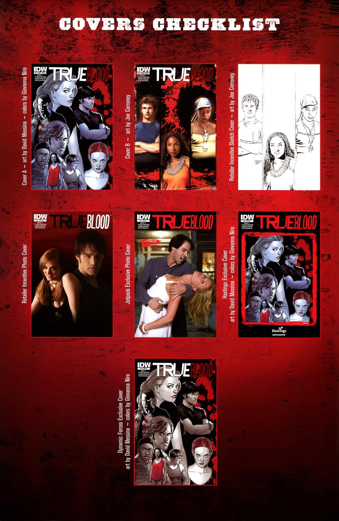 Read online True Blood (2010) comic -  Issue #6 - 30