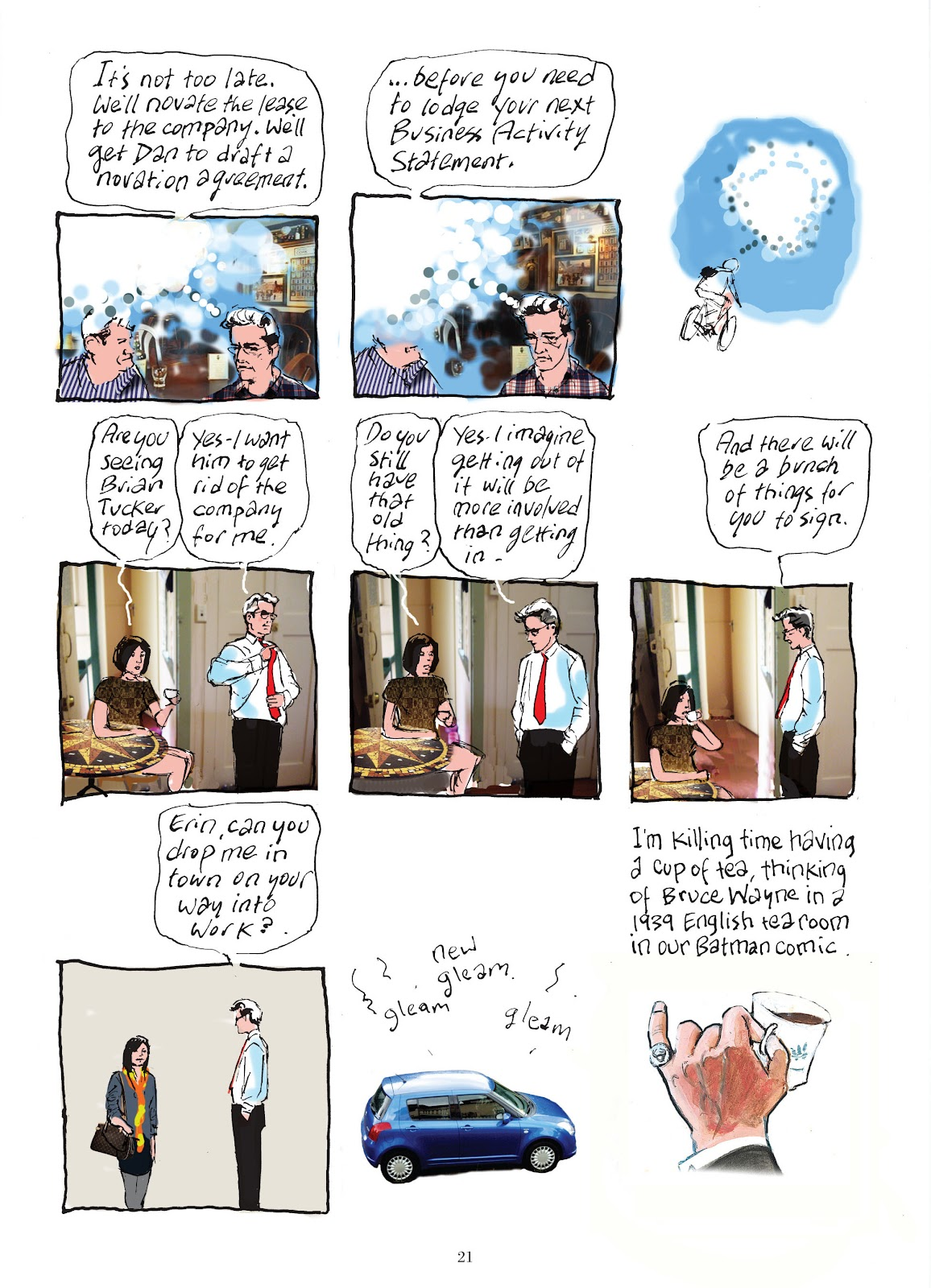 Read online The Lovely Horrible Stuff comic -  Issue # TPB - 23