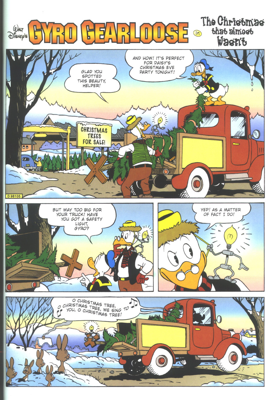 Read online Uncle Scrooge (1953) comic -  Issue #348 - 21