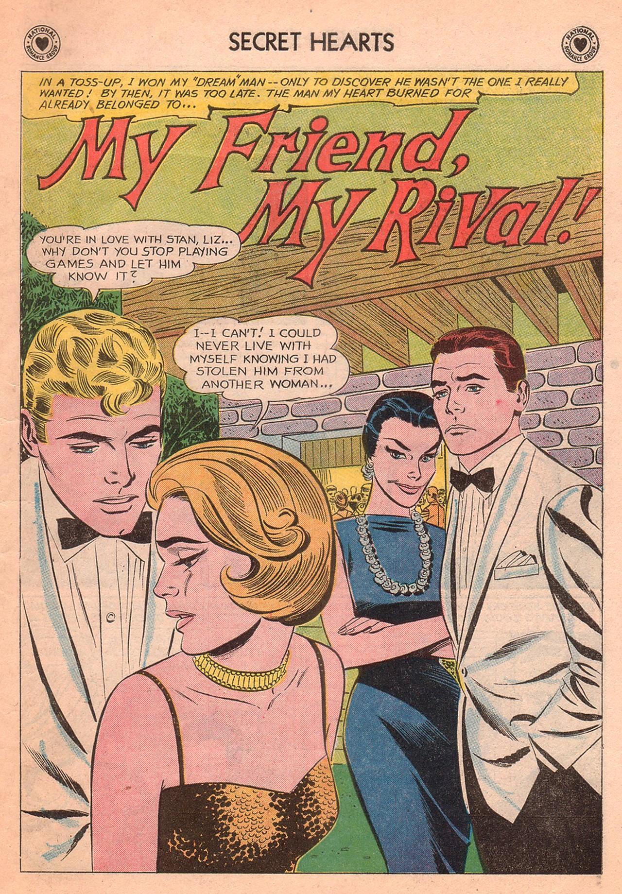 Read online Secret Hearts comic -  Issue #77 - 11