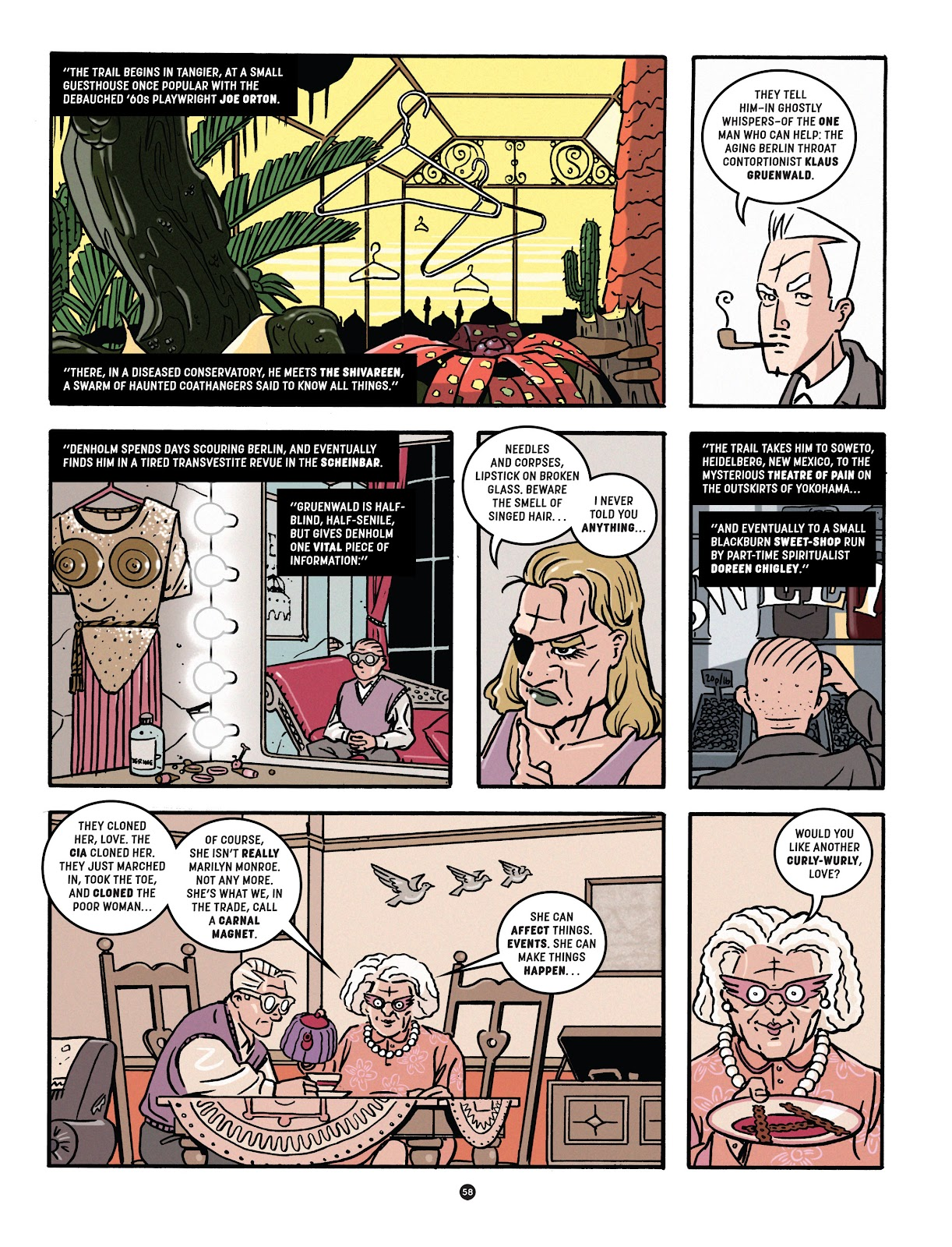 Read online Tales from Beyond Science comic -  Issue # TPB - 59