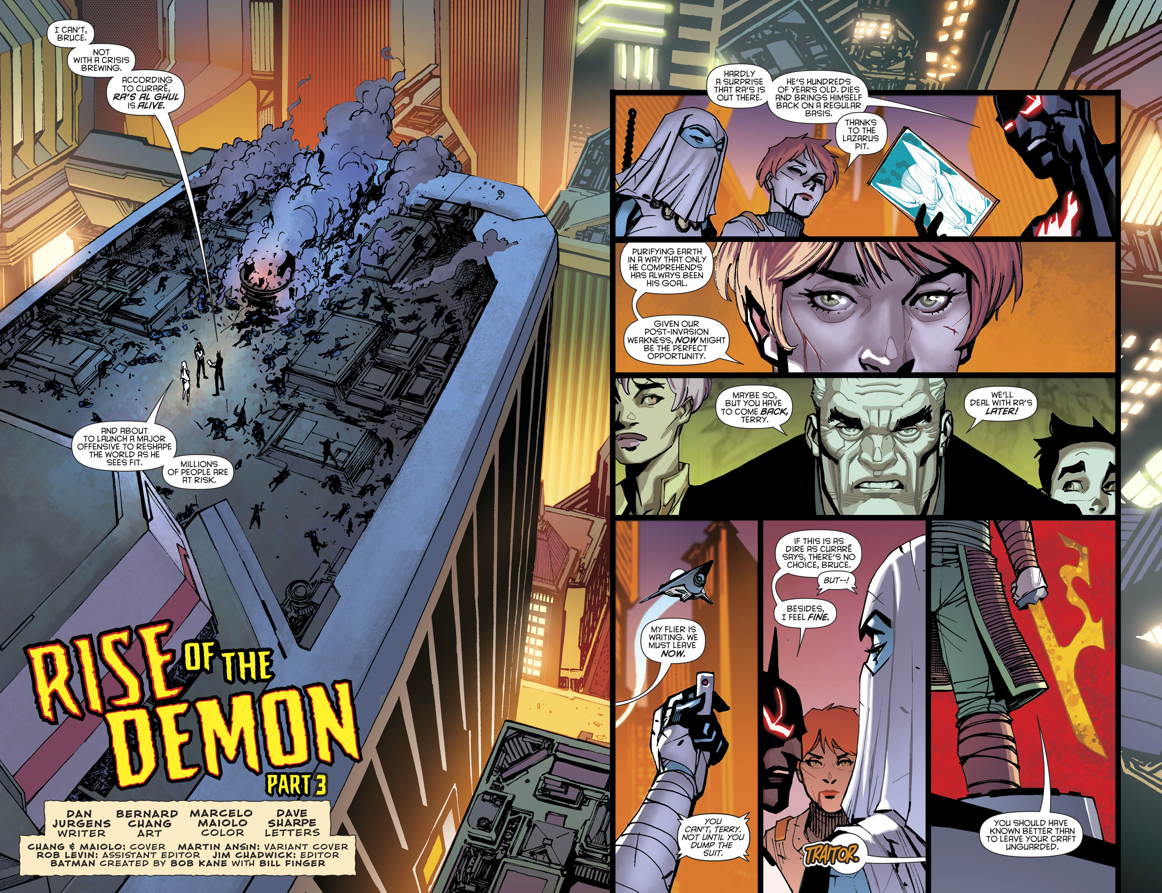 Read online Batman Beyond (2016) comic -  Issue #8 - 5