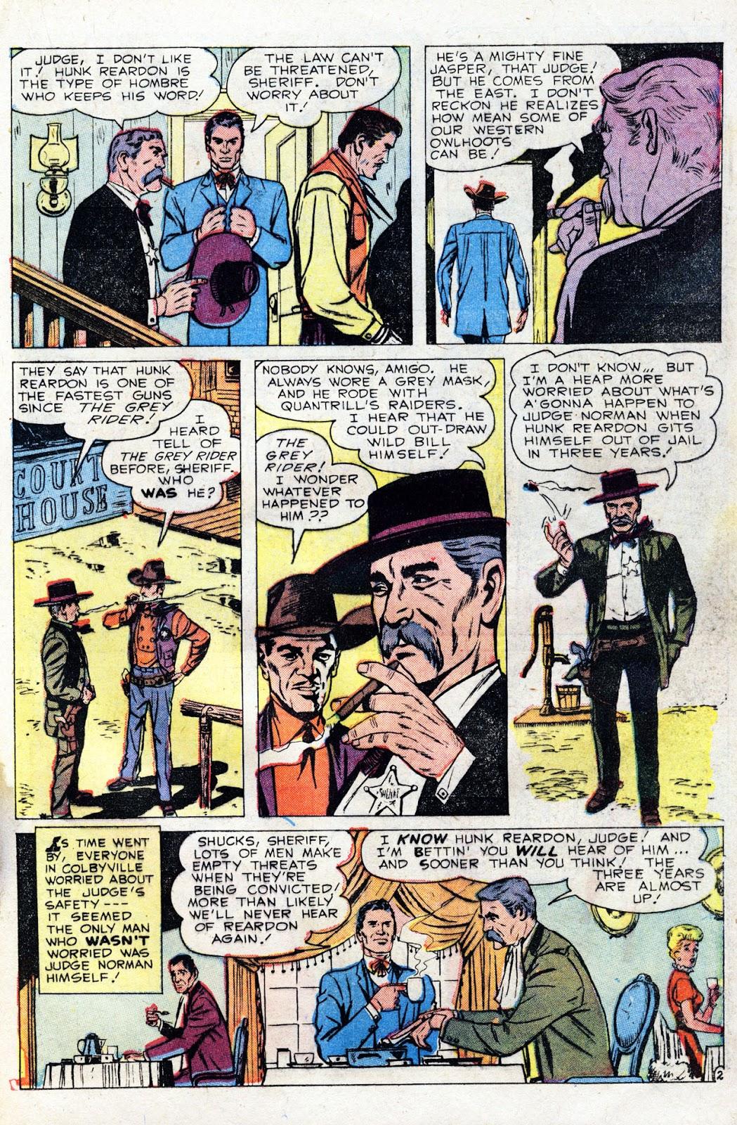 Gunsmoke Western issue 60 - Page 21