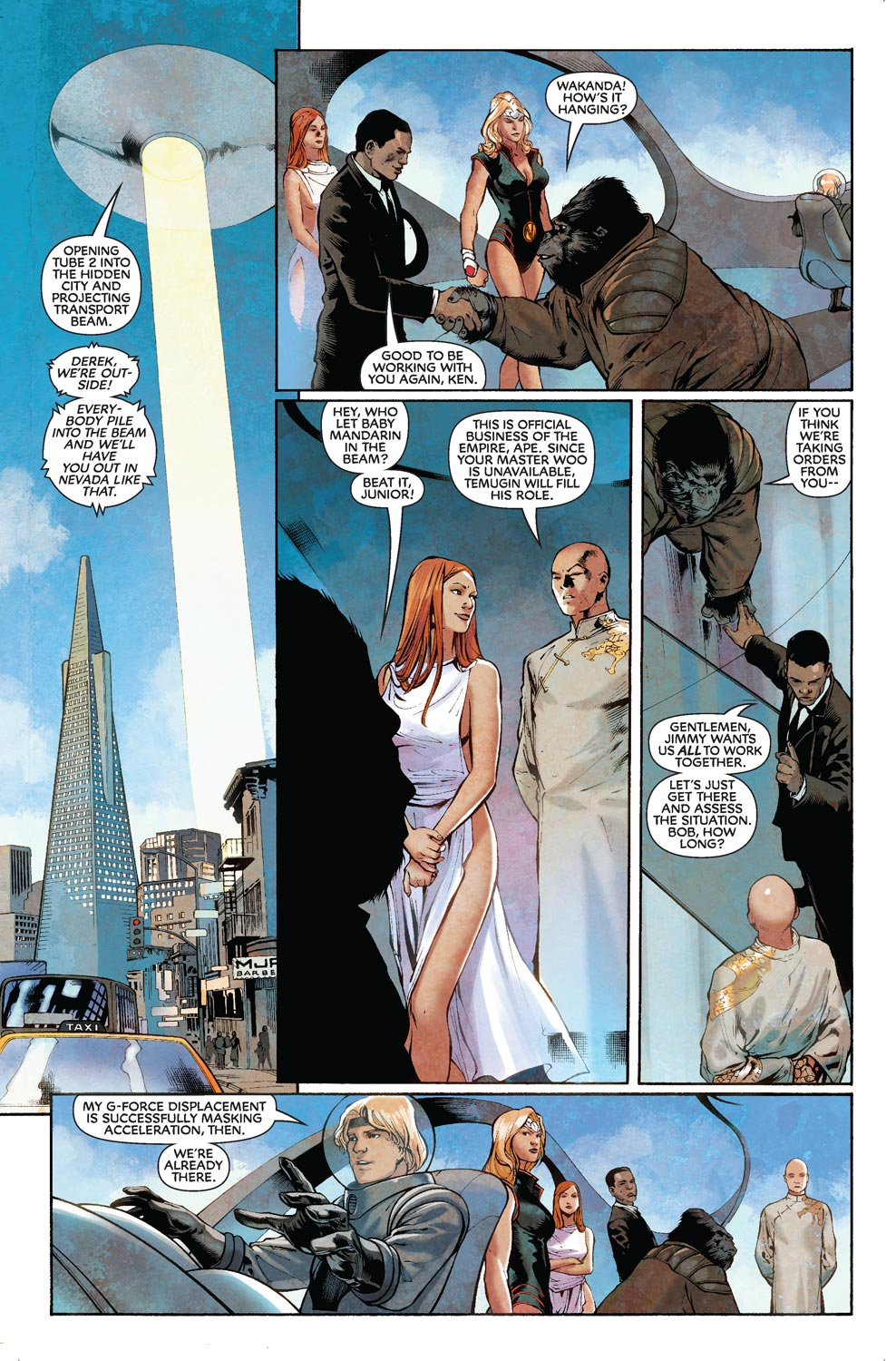 Read online Agents Of Atlas (2009) comic -  Issue #8 - 9