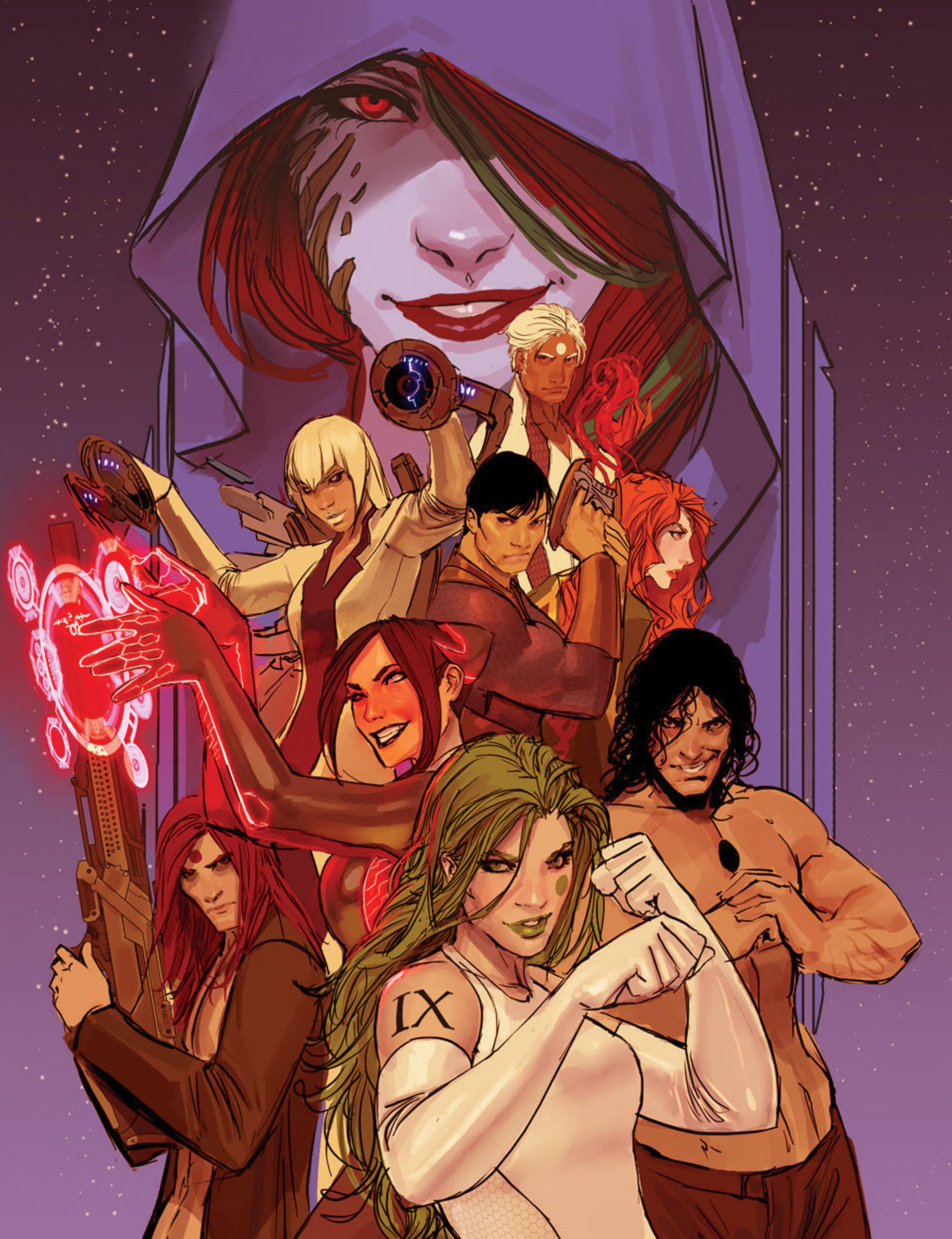Read online IXth Generation Hidden Files comic -  Issue #1 - 11