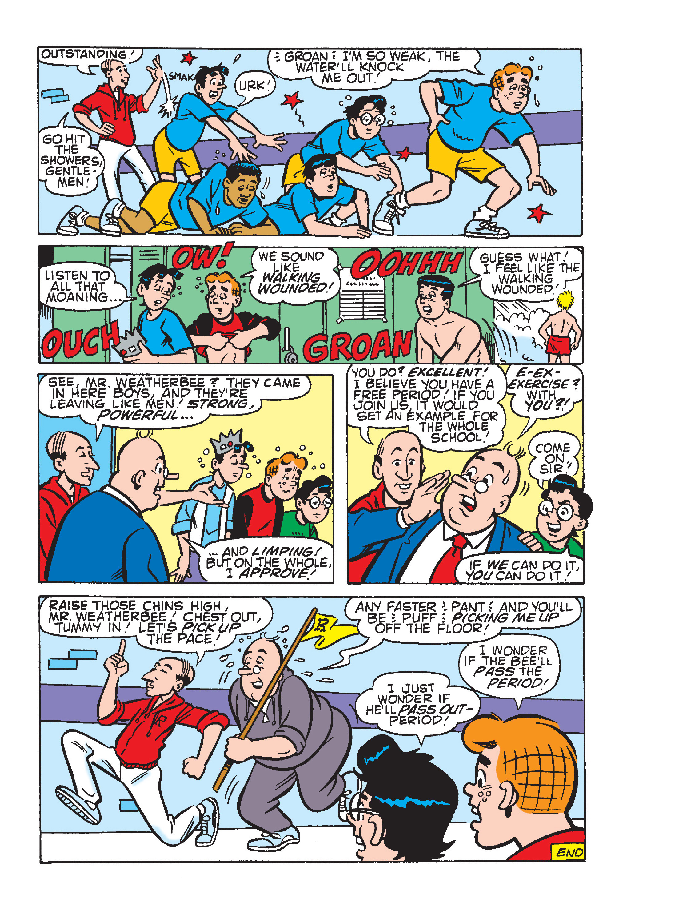 Read online Archie's Funhouse Double Digest comic -  Issue #23 - 76