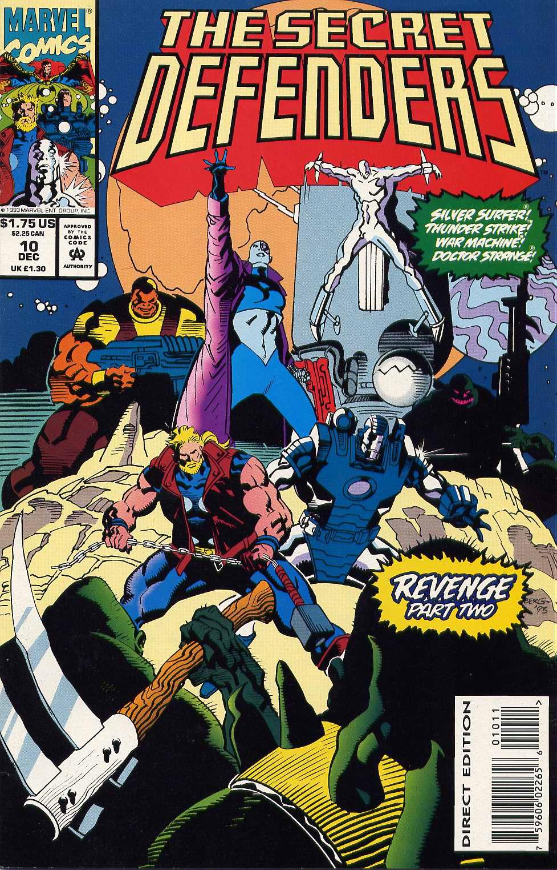 Read online Secret Defenders comic -  Issue #10 - 1