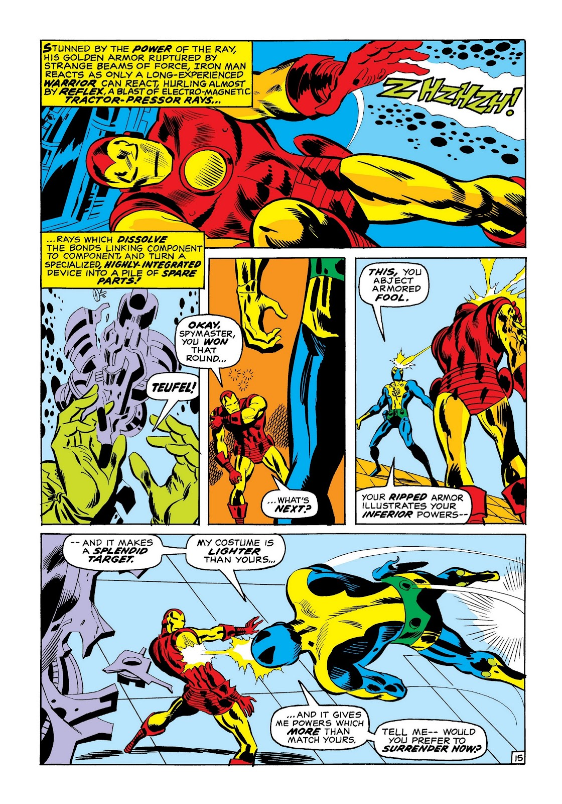 Read online Marvel Masterworks: The Invincible Iron Man comic -  Issue # TPB 7 (Part 2) - 83
