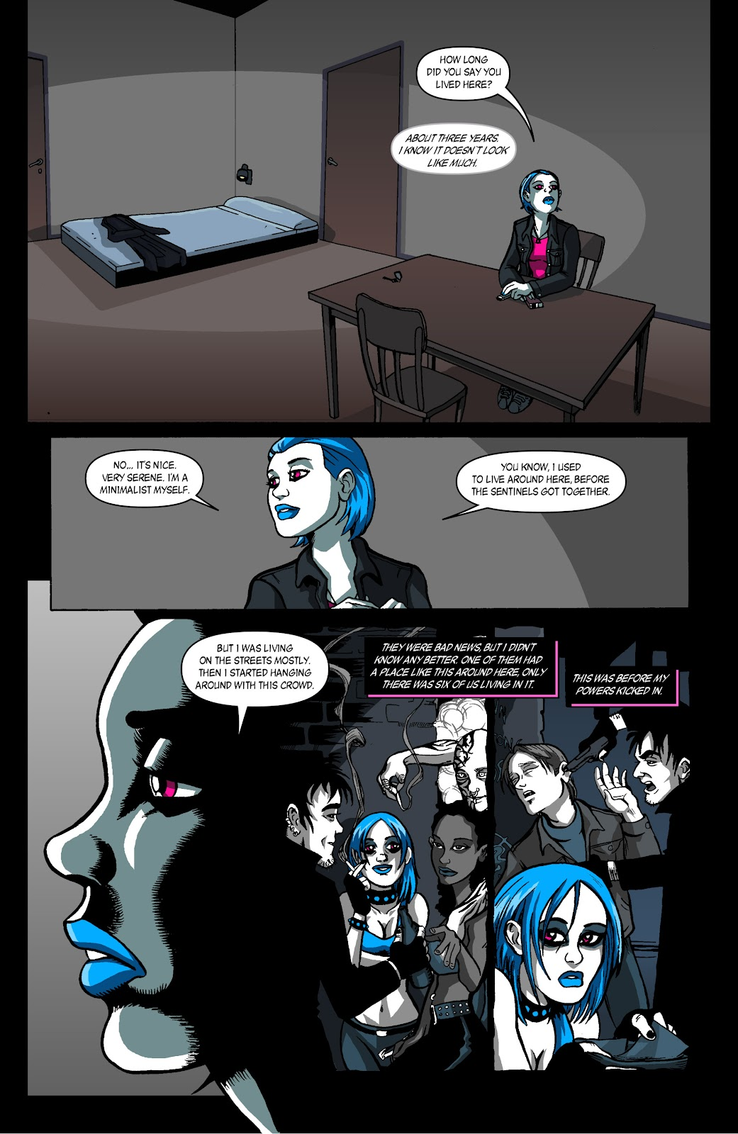 Sentinels issue 4 - Page 16