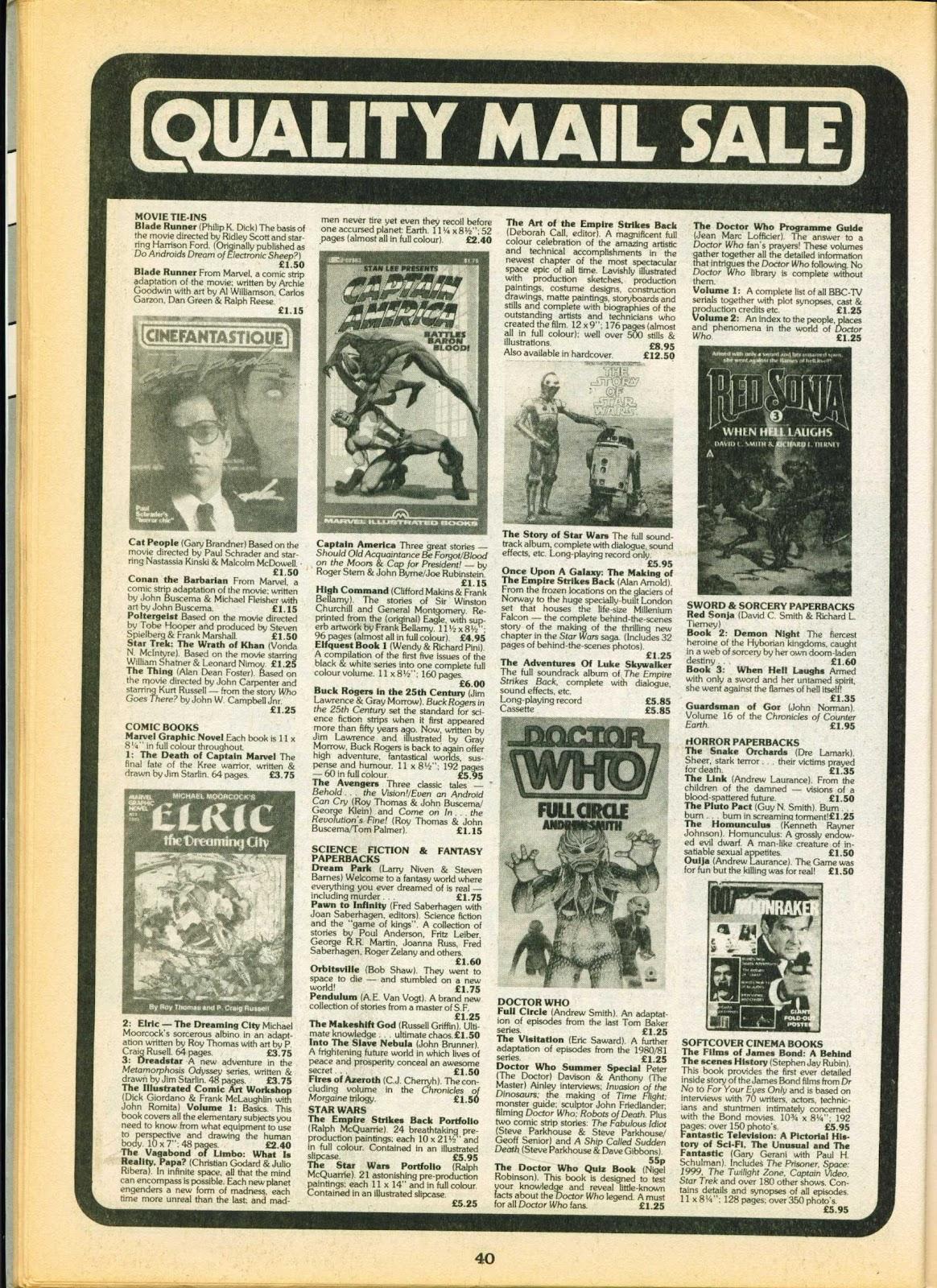 Warrior Issue #6 #7 - English 40
