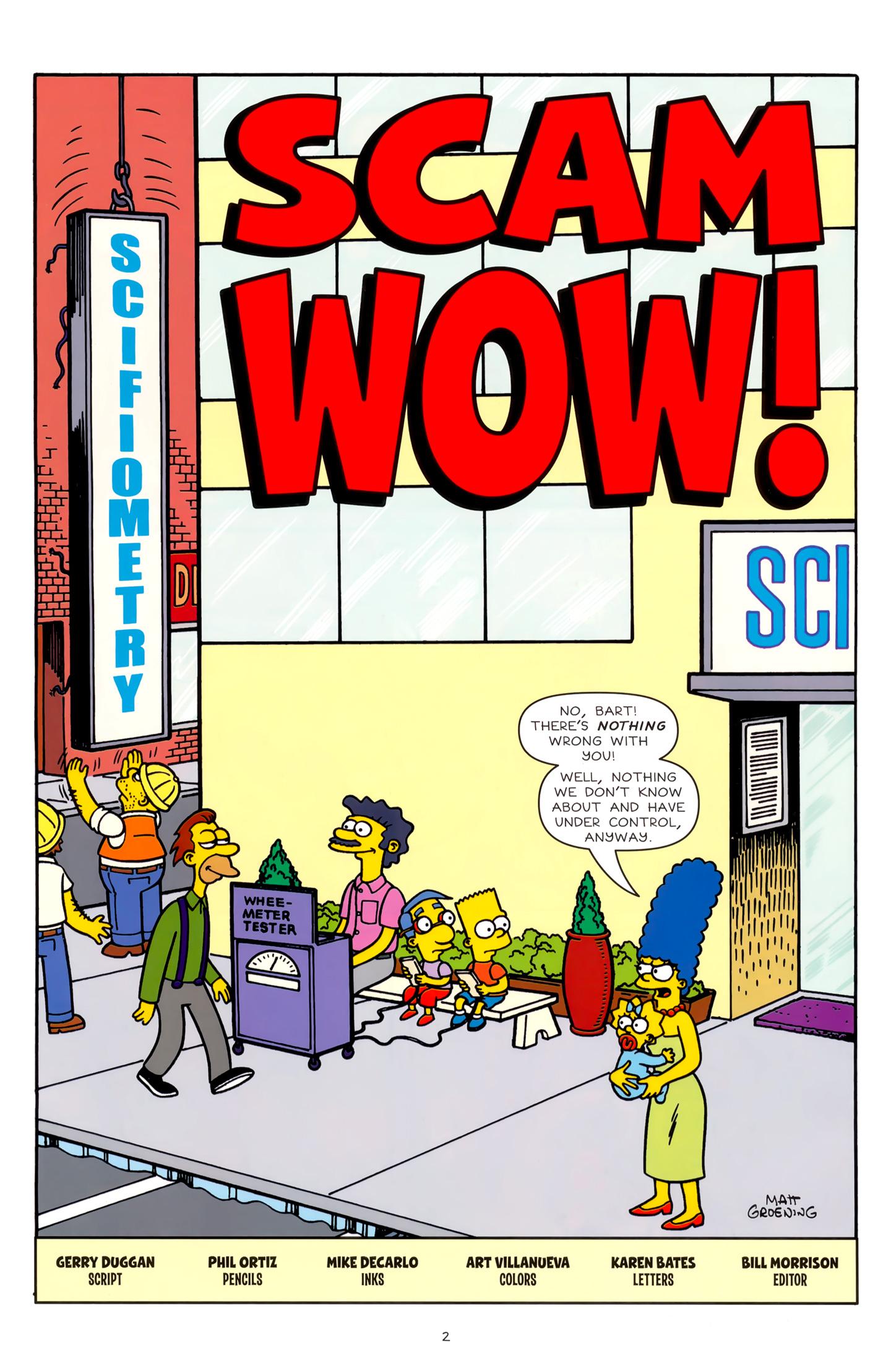 Read online Simpsons Comics comic -  Issue #179 - 3