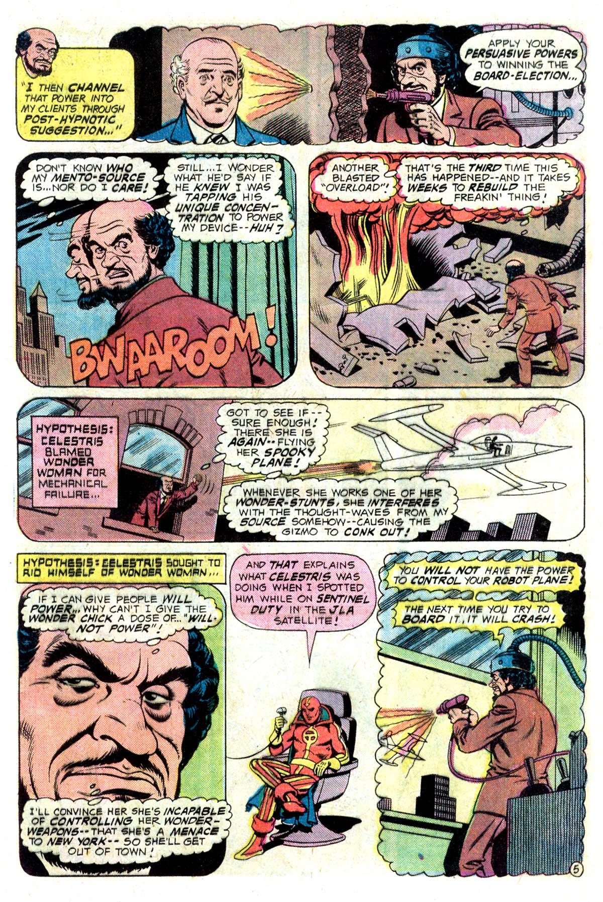 Read online Wonder Woman (1942) comic -  Issue #218 - 7