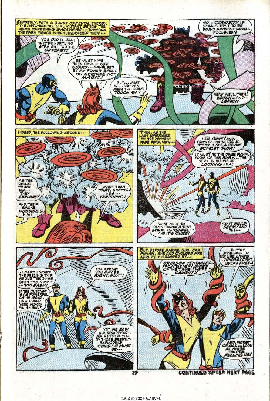 Read online Uncanny X-Men (1963) comic -  Issue #81 - 21
