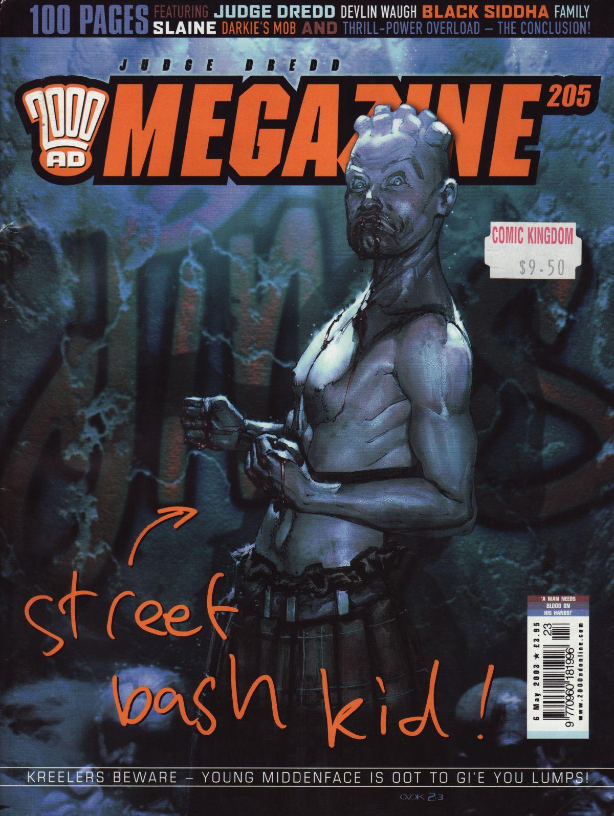 Judge Dredd Megazine (Vol. 5) issue 205 - Page 1