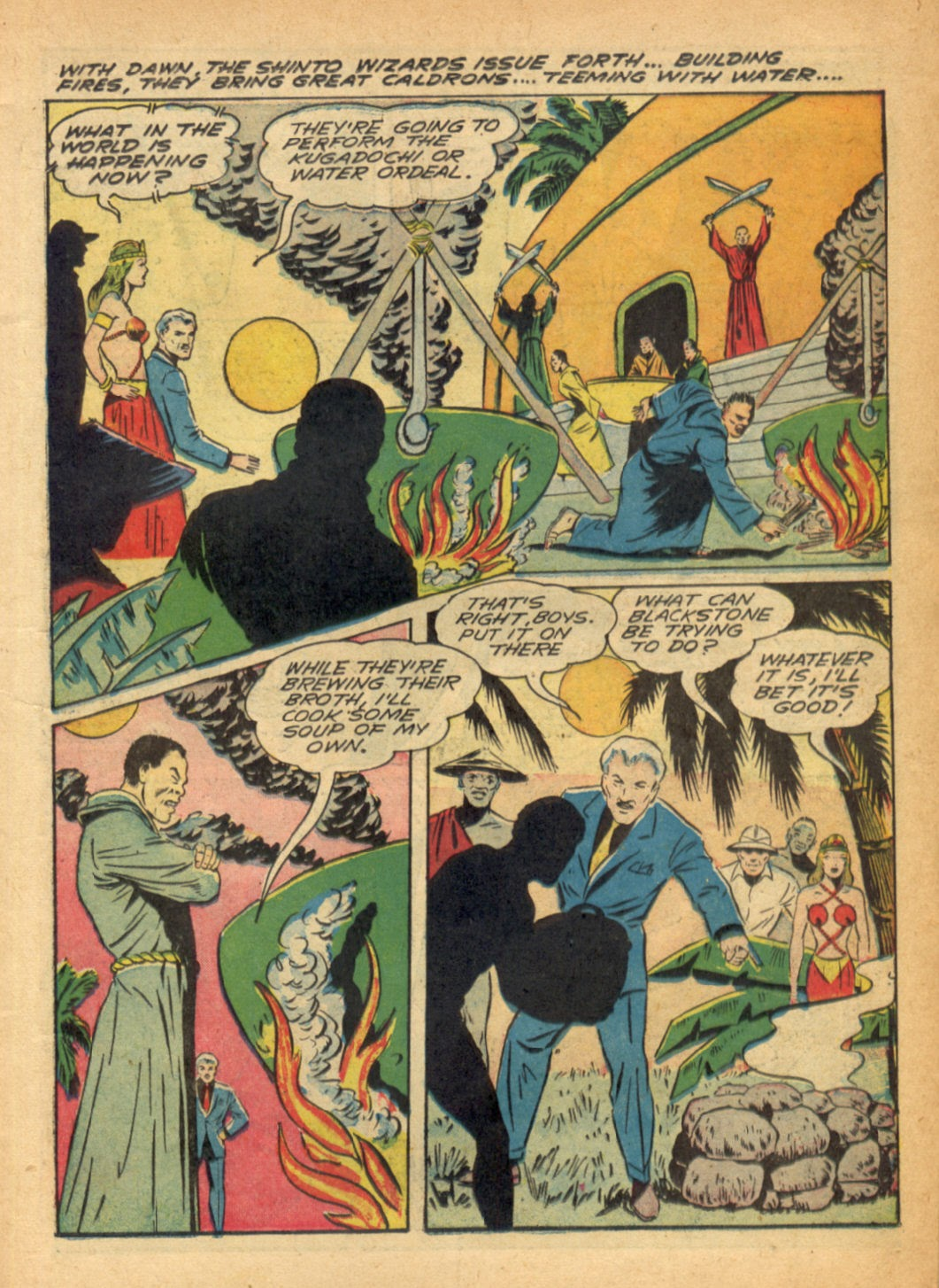 Read online Super-Magician Comics comic -  Issue #6 - 19