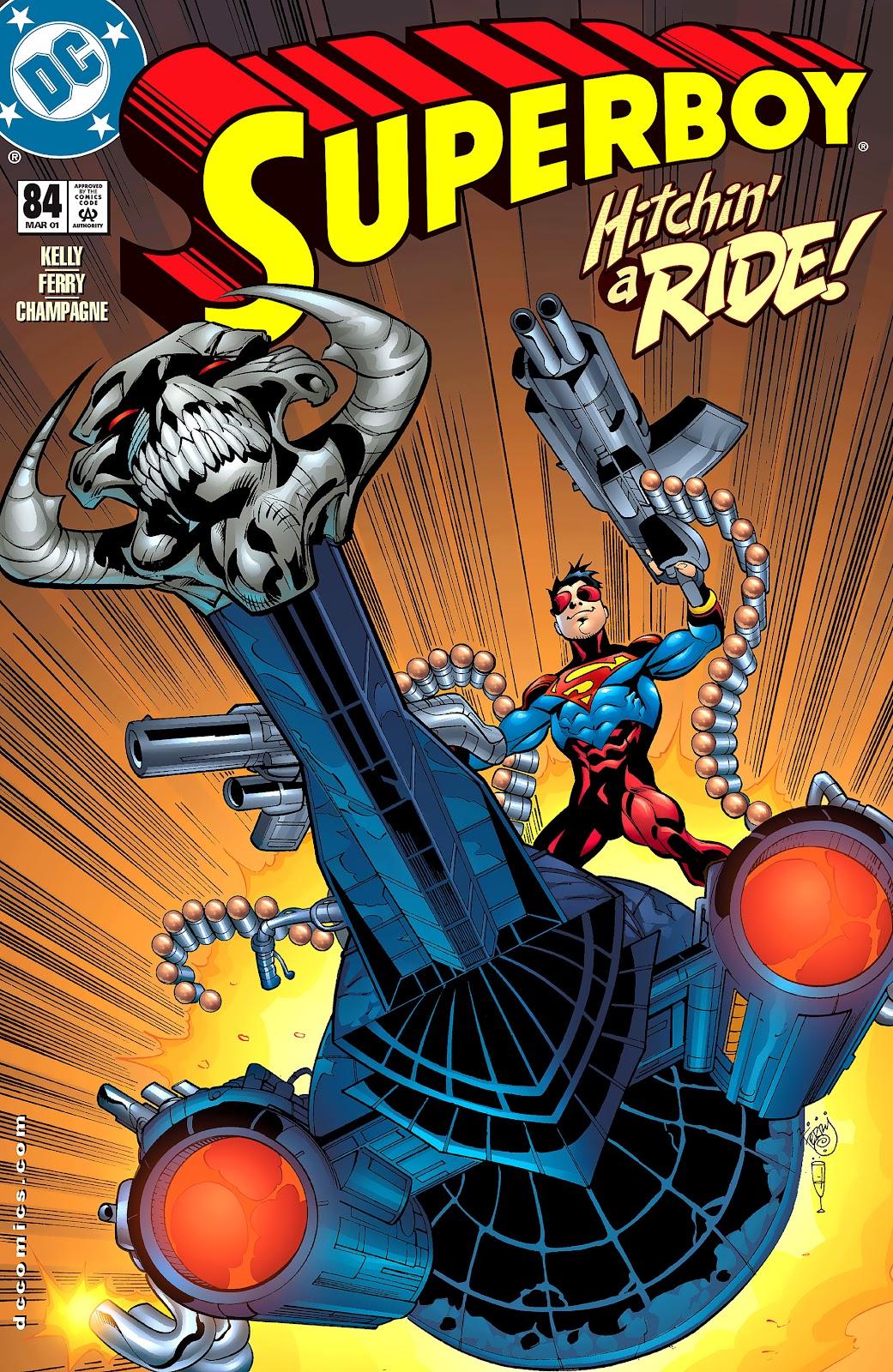 Superboy (1994) 84 Page 1