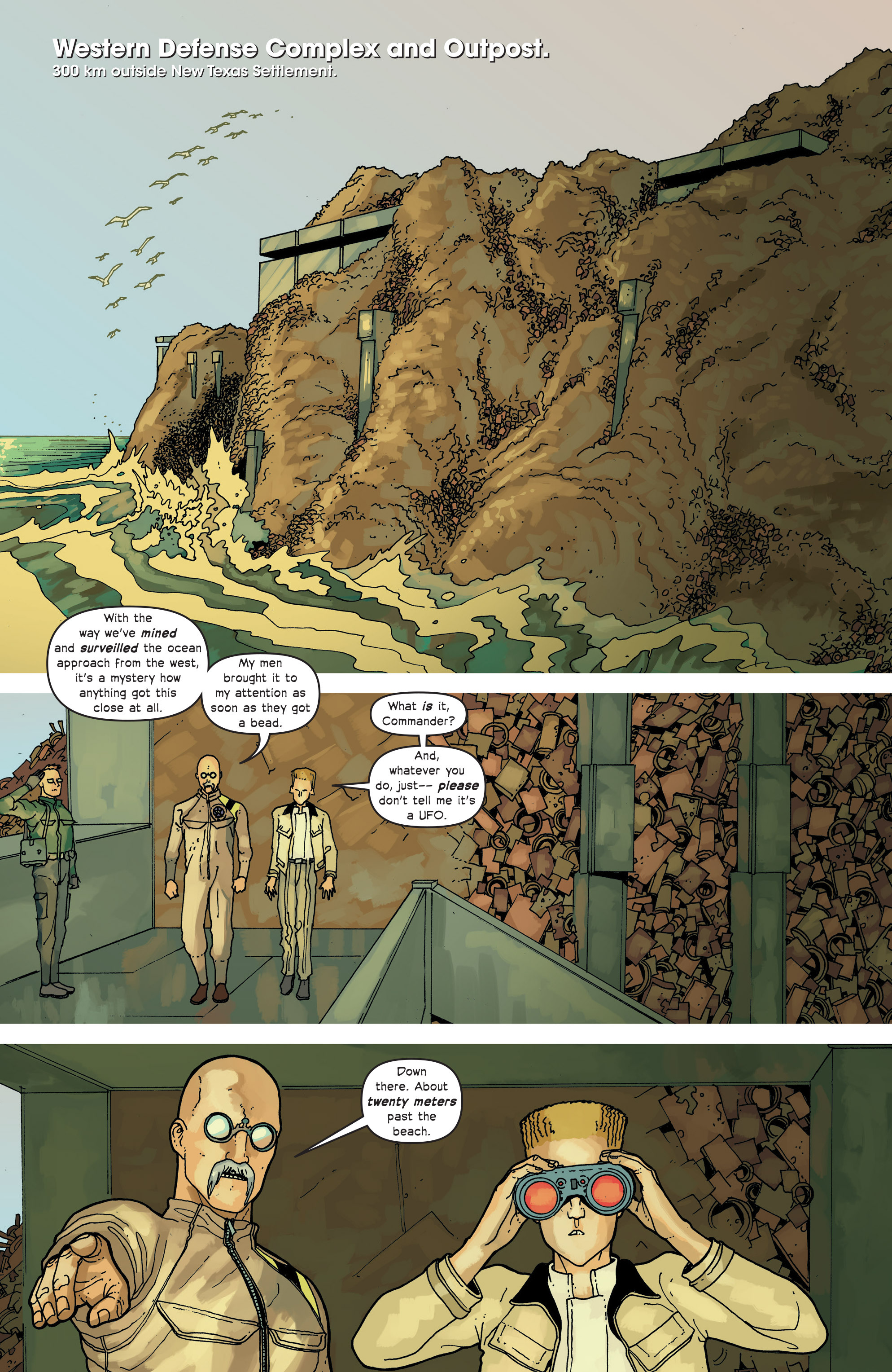 Read online Great Pacific comic -  Issue #13 - 14