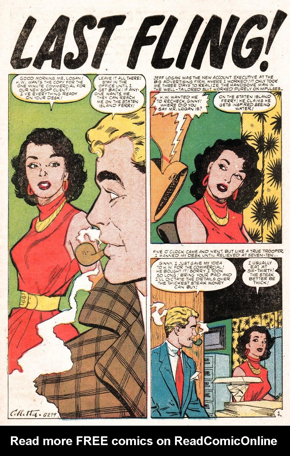 Love Romances (1949) issue 51 - Page 27