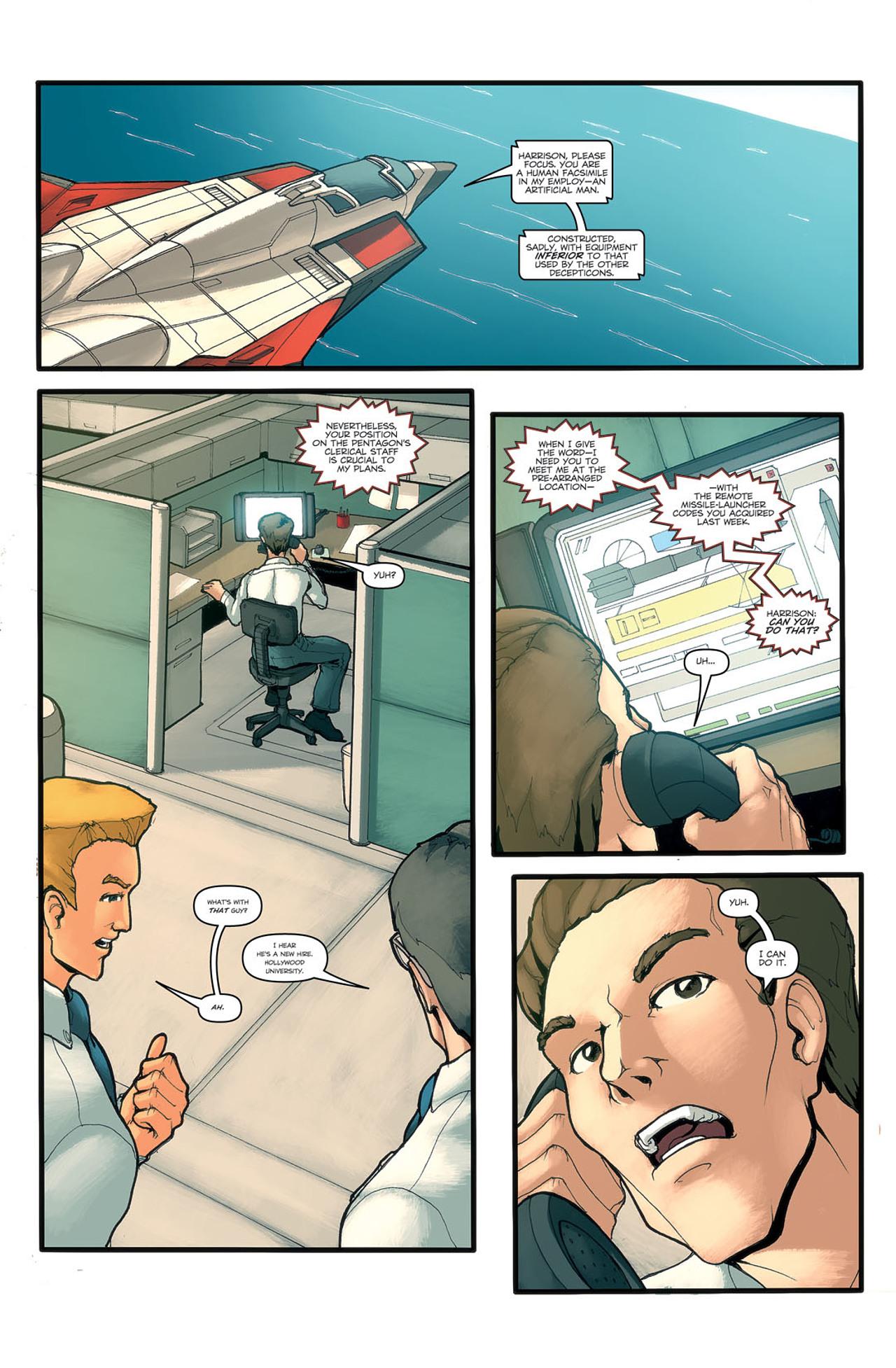 Read online Transformers Spotlight: Ramjet comic -  Issue # Full - 12