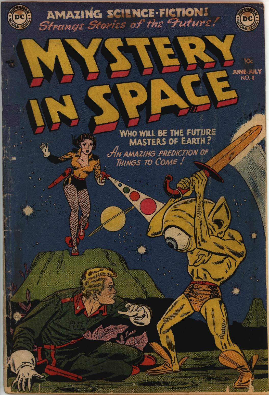 Mystery in Space (1951) issue 8 - Page 1