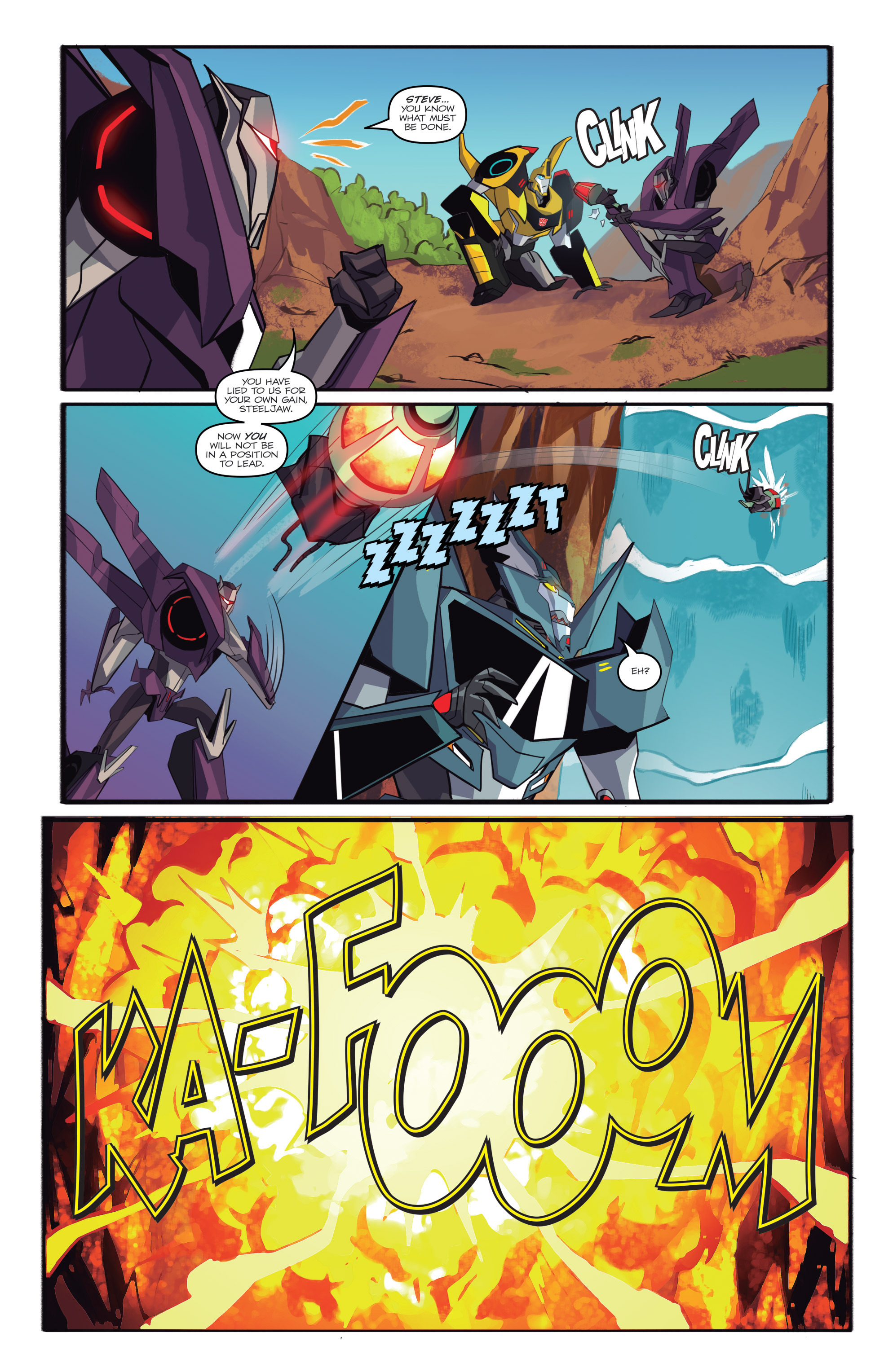 Read online Transformers: Robots In Disguise (2015) comic -  Issue #6 - 21