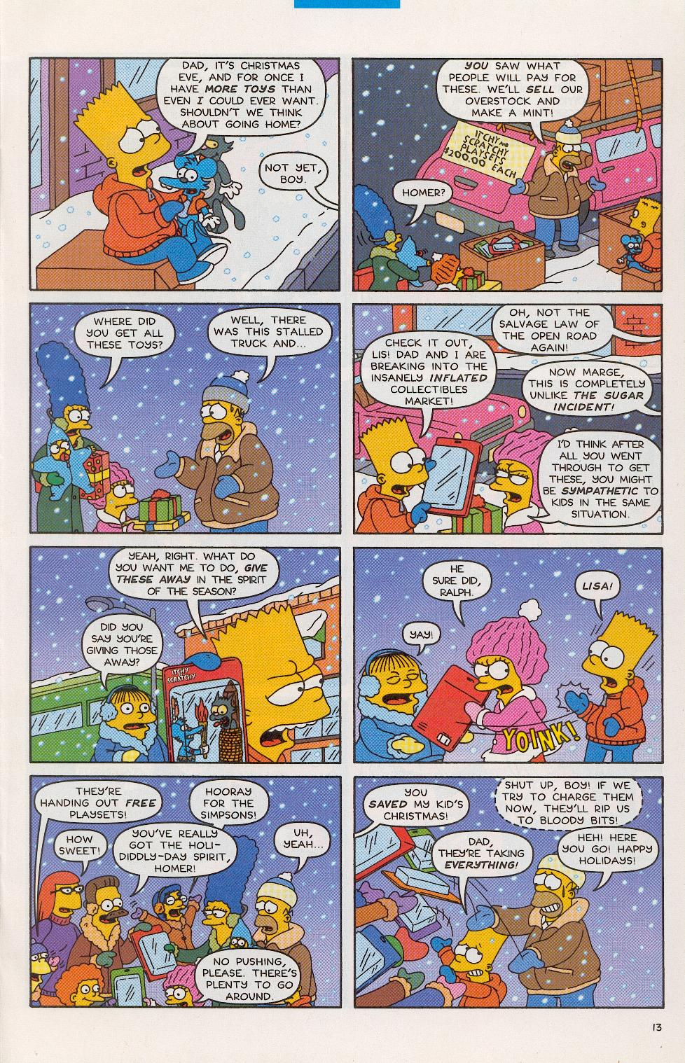 Read online Simpsons Comics comic -  Issue #52 - 14