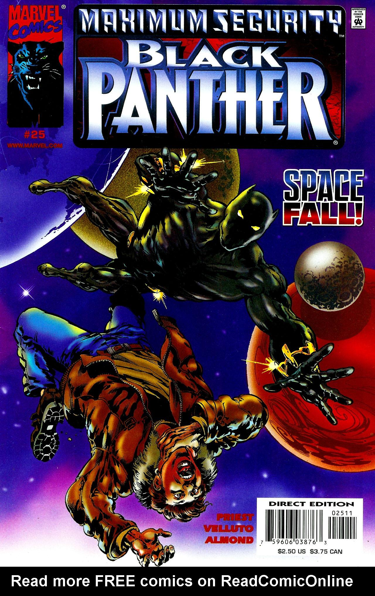 Black Panther (1998) 25 Page 1