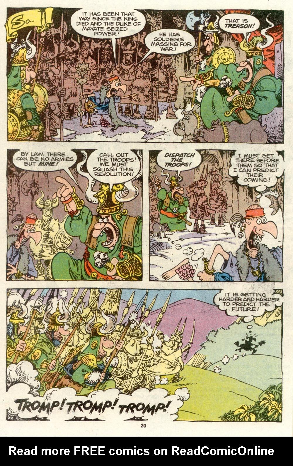 Read online Sergio Aragonés Groo the Wanderer comic -  Issue #72 - 15