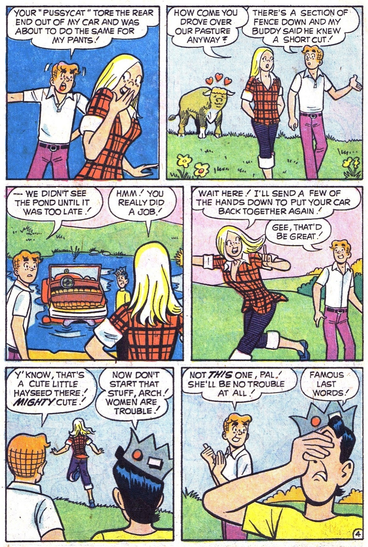 Read online Archie (1960) comic -  Issue #241 - 6