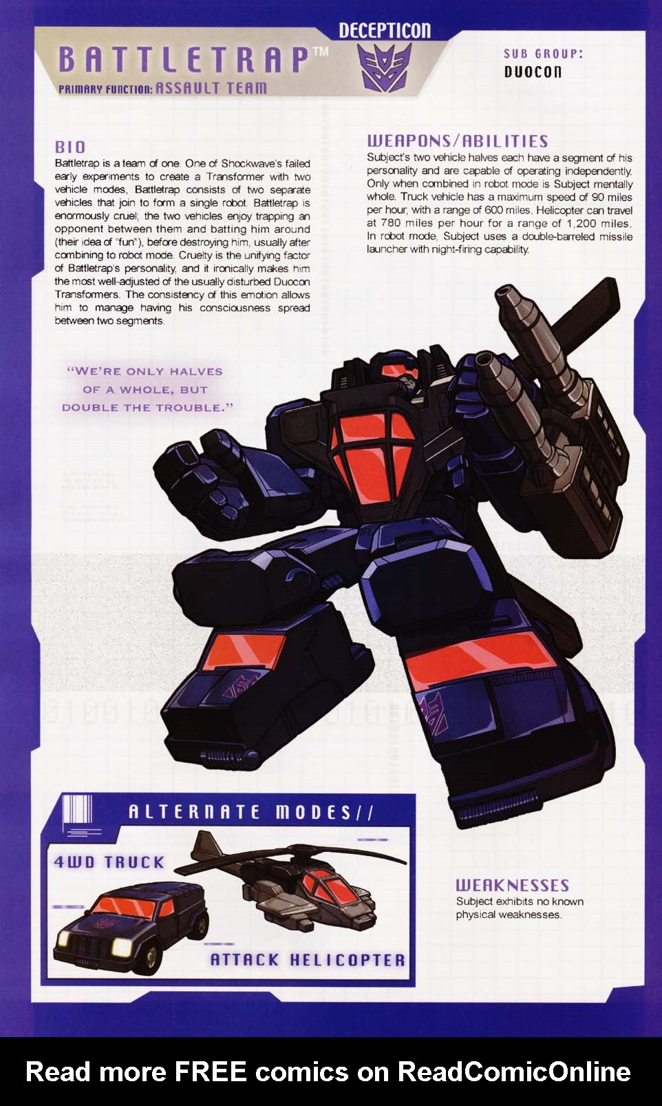 Read online Transformers: More than Meets the Eye comic -  Issue #1 - 20