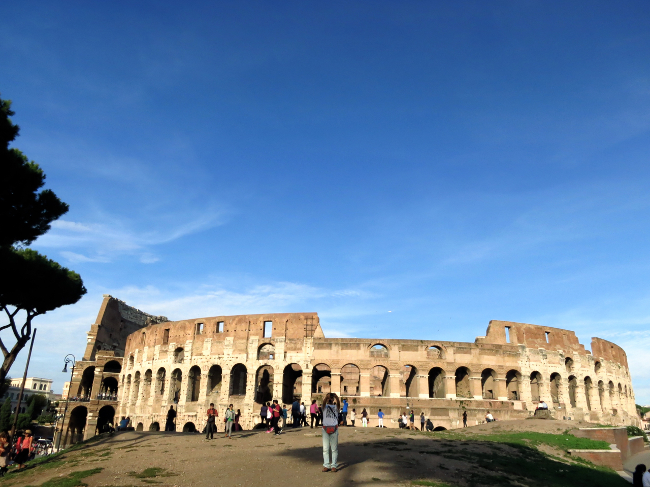 Colosseo in Rome, Italy