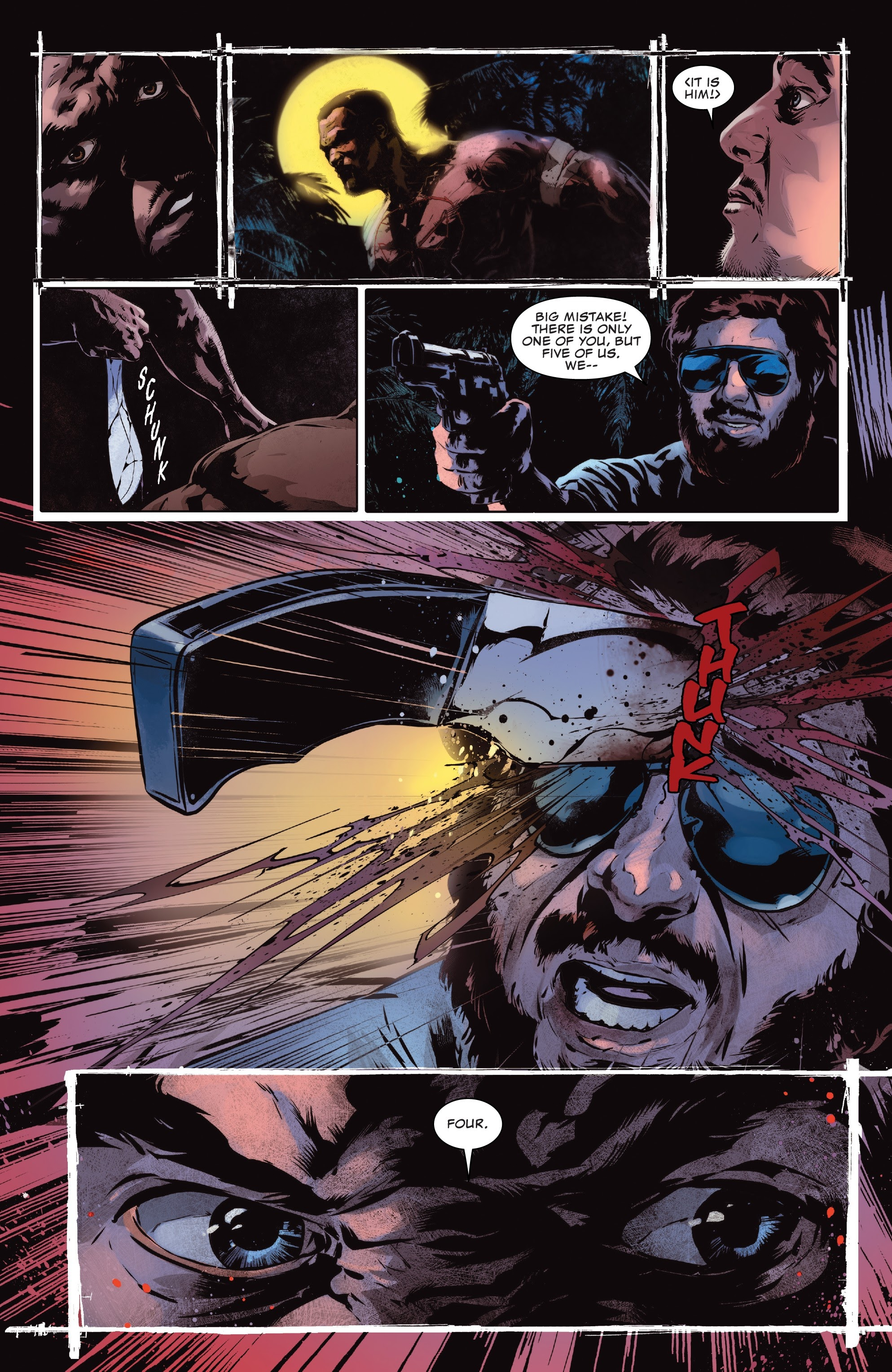 Read online The Punisher (2018) comic -  Issue #12 - 6
