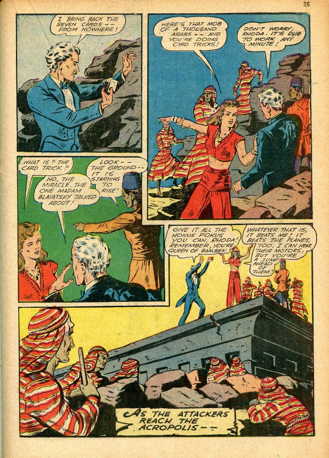 Read online Super-Magician Comics comic -  Issue #12 - 35