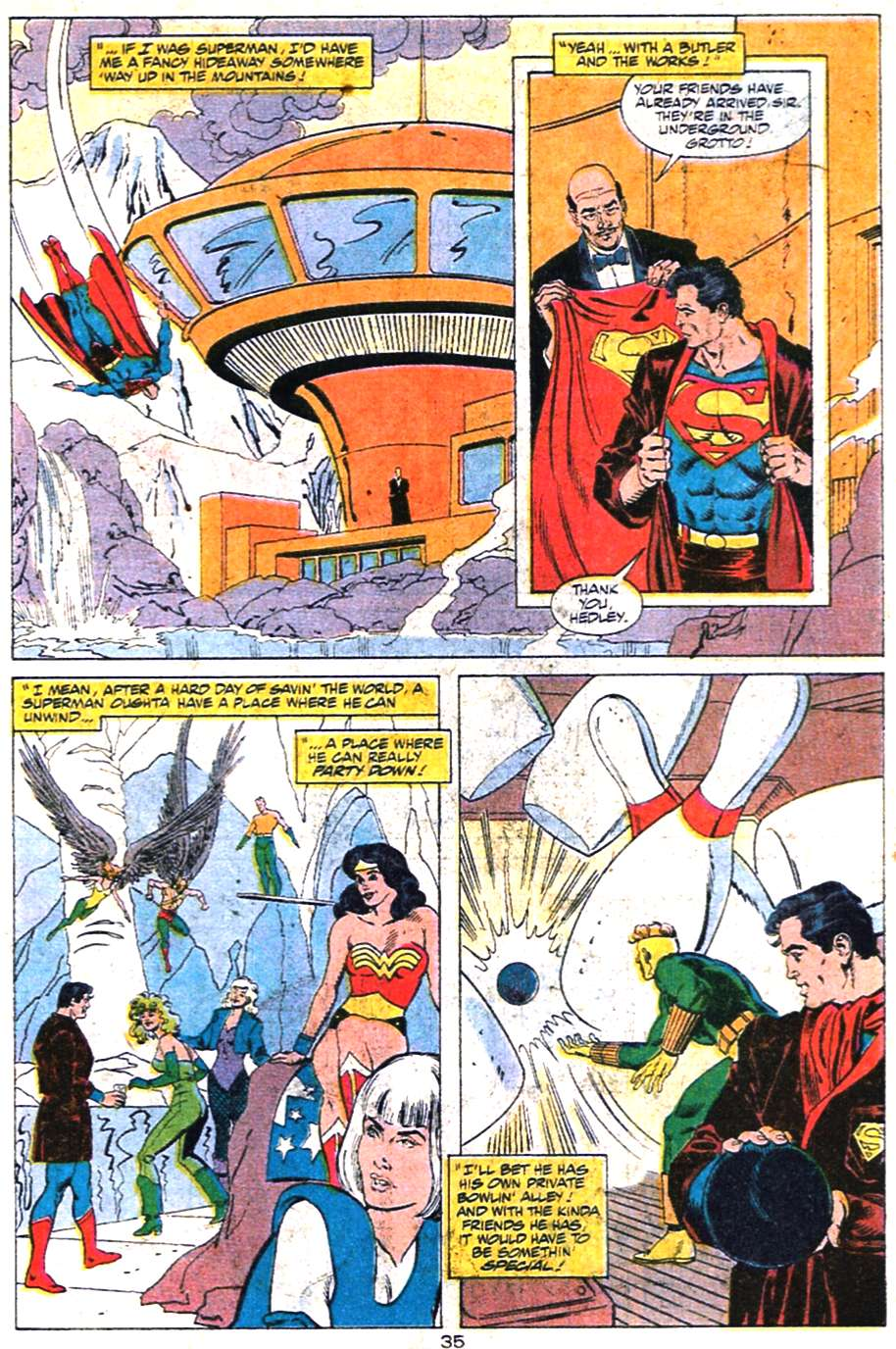 Read online Action Comics (1938) comic -  Issue #650 - 36