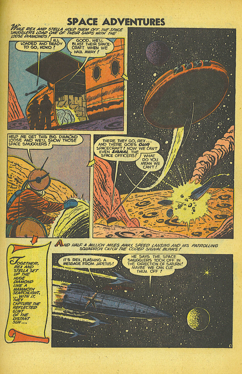 Read online Space Adventures comic -  Issue #5 - 16